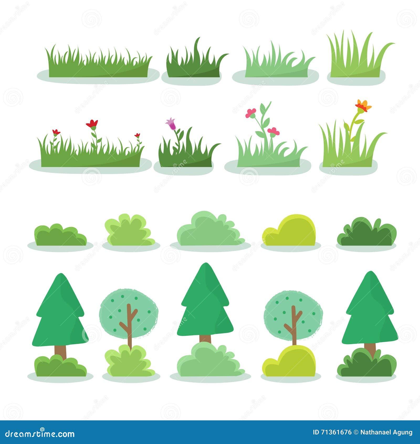 Απεικόνιση του διαφορετικού είδους δέντρου