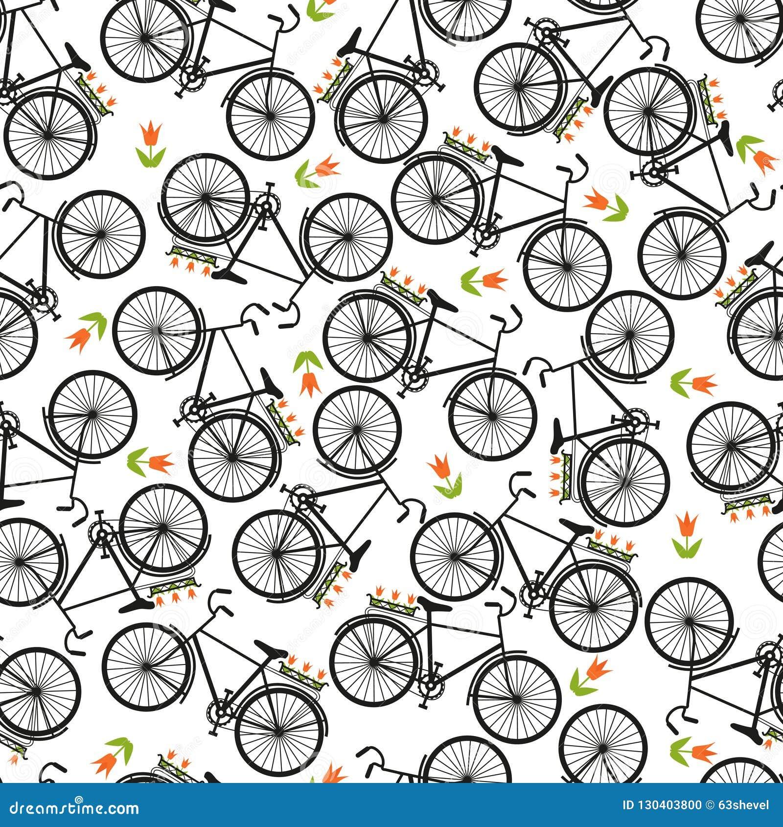 b4a050a4677 Απεικόνιση του ποδηλάτου, που οδηγά στο ποδήλατο, διανυσματική ...