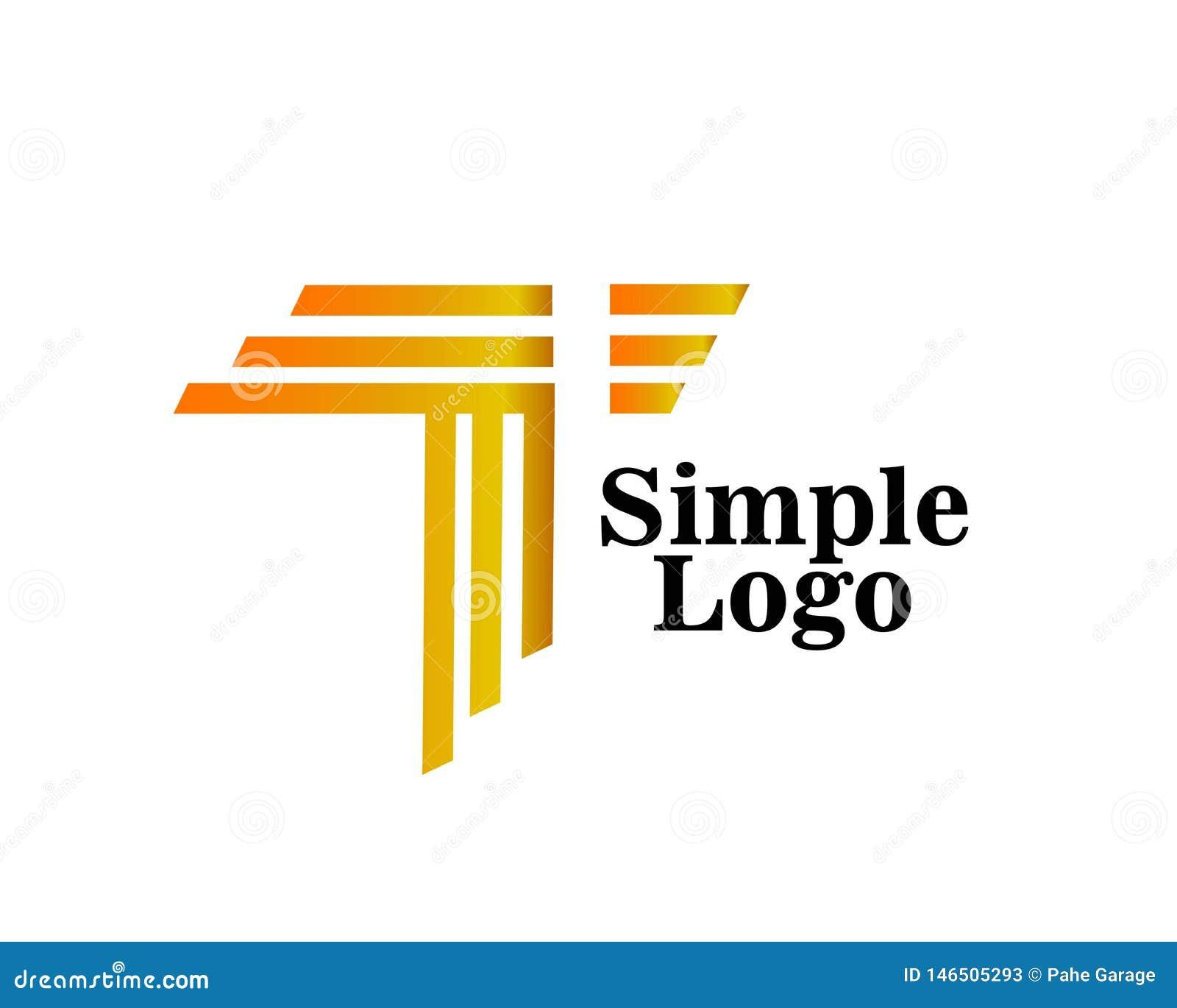 Απλό αφηρημένο καλλιτεχνικό εικονίδιο λογότυπων