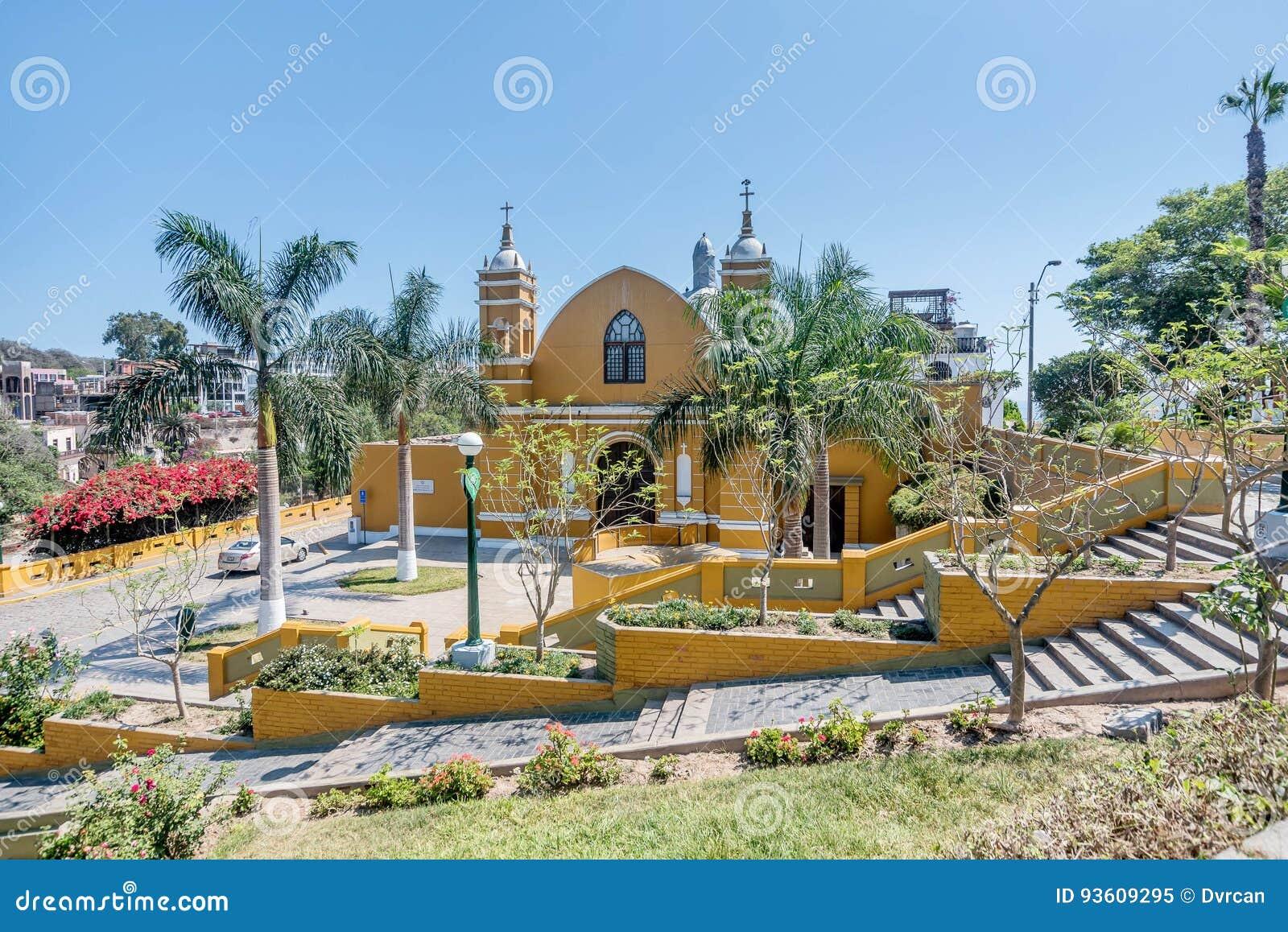 Αποικιακό Λα Ermita Iglesia εκκλησιών σε Barranco, Λίμα, Περού