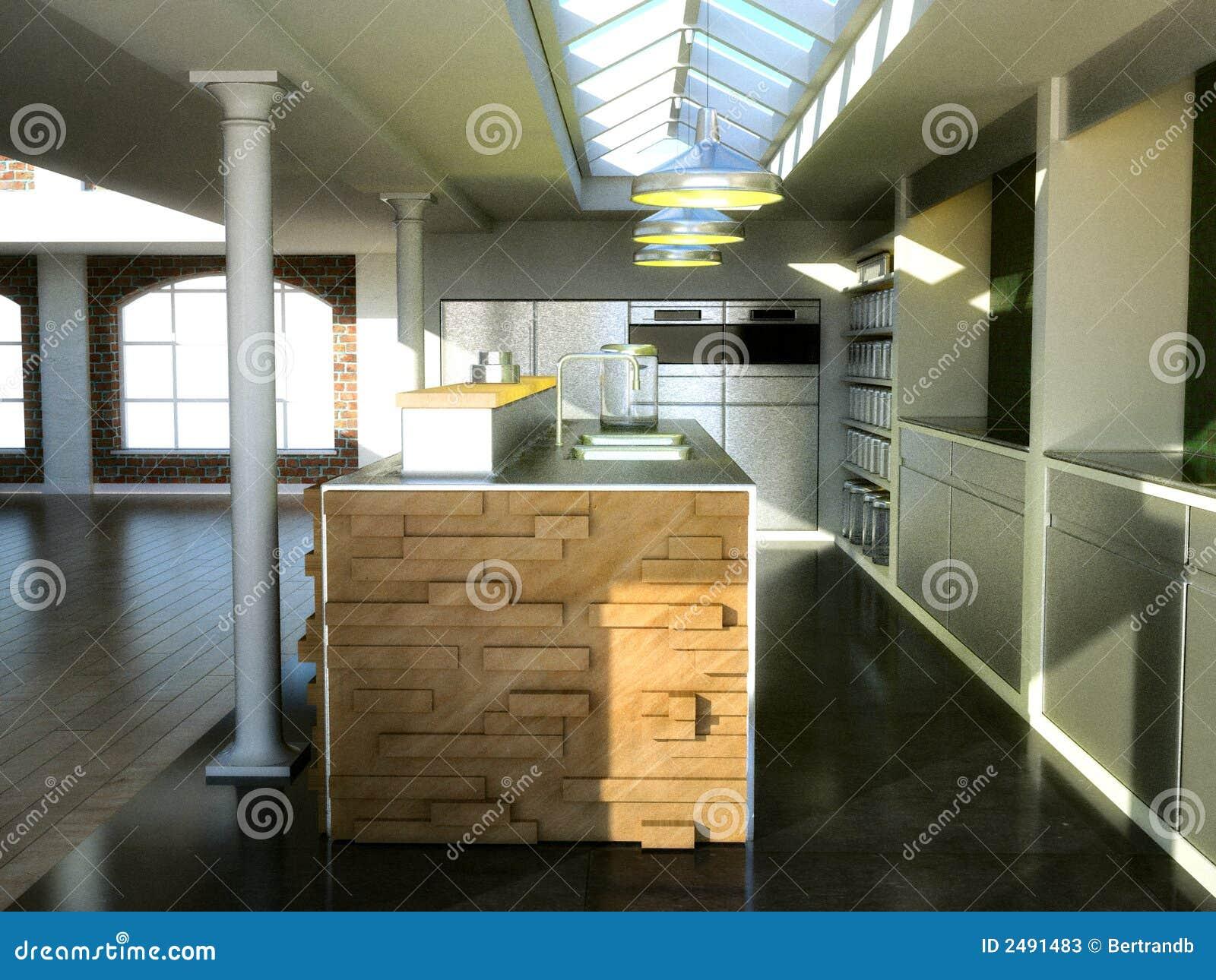 αποκλειστική σοφίτα κουζινών