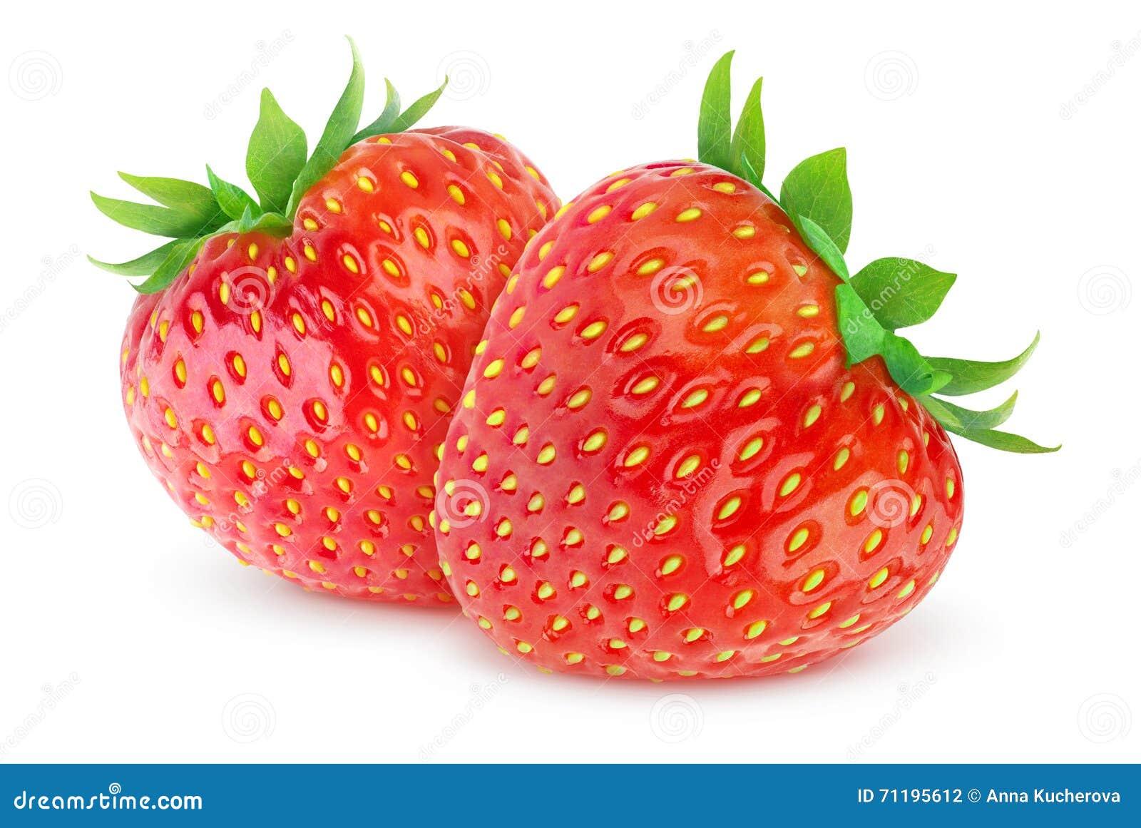 απομονωμένες φράουλες