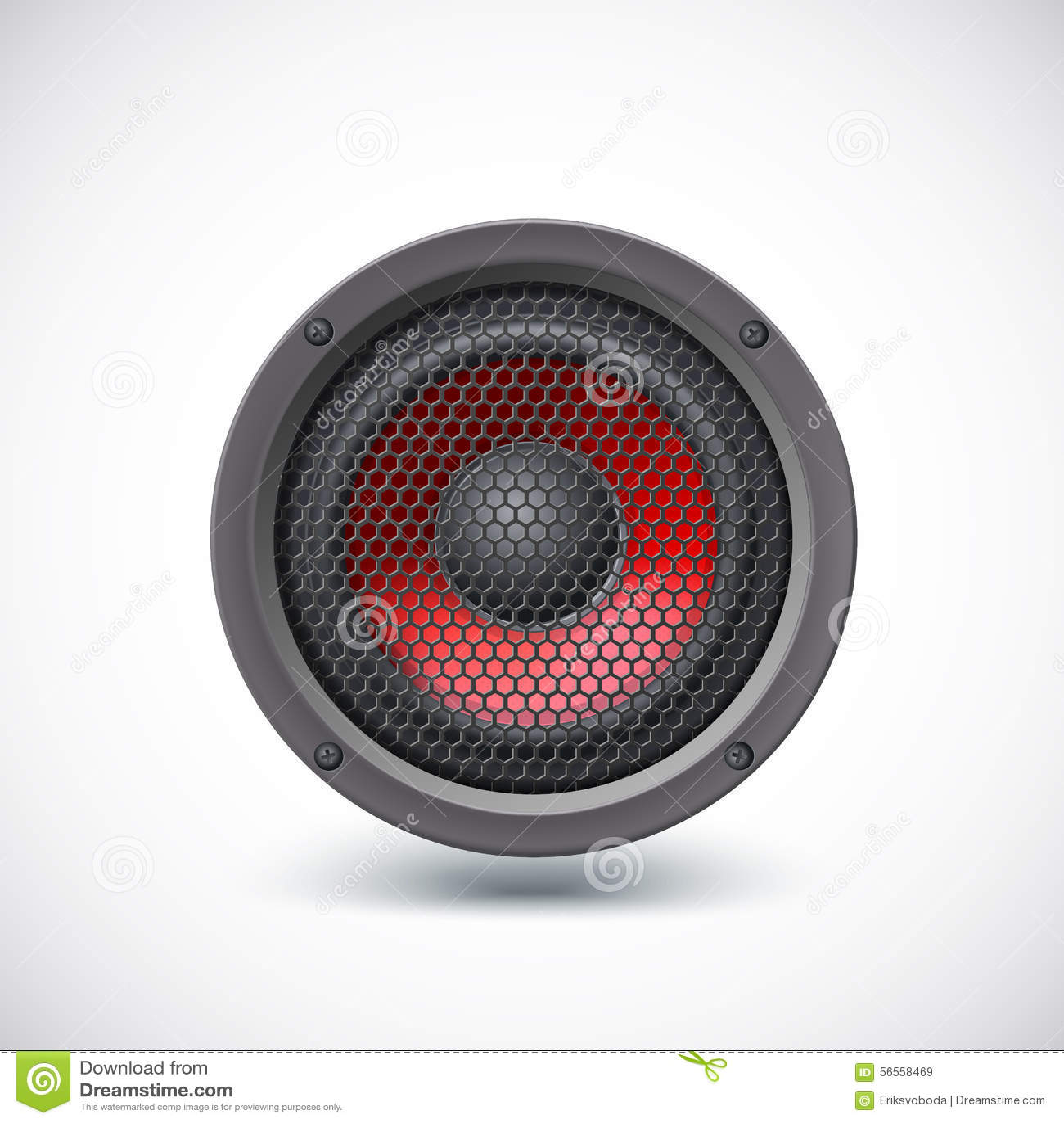Download απομονωμένος ομιλητής διανυσματική απεικόνιση. εικονογραφία από basso - 56558469