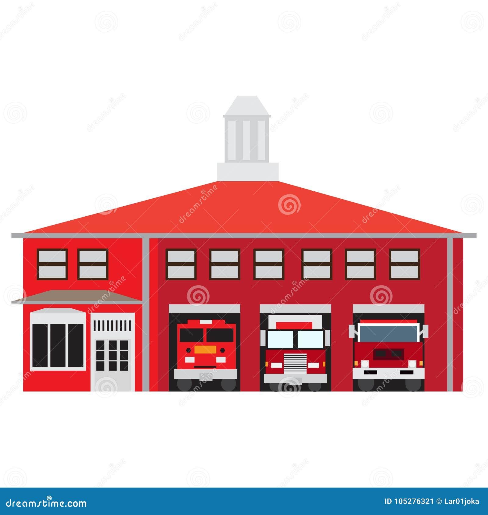 Απομονωμένος πυροσβεστικός σταθμός