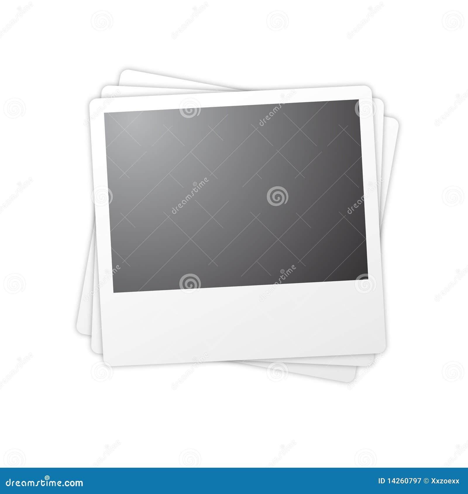 απομονωμένο πλαίσια polaroid