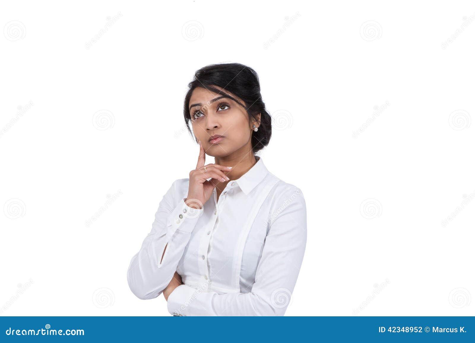 απομόνωση επιχειρηματιών ανασκόπησης που σκέφτεται άσπρη