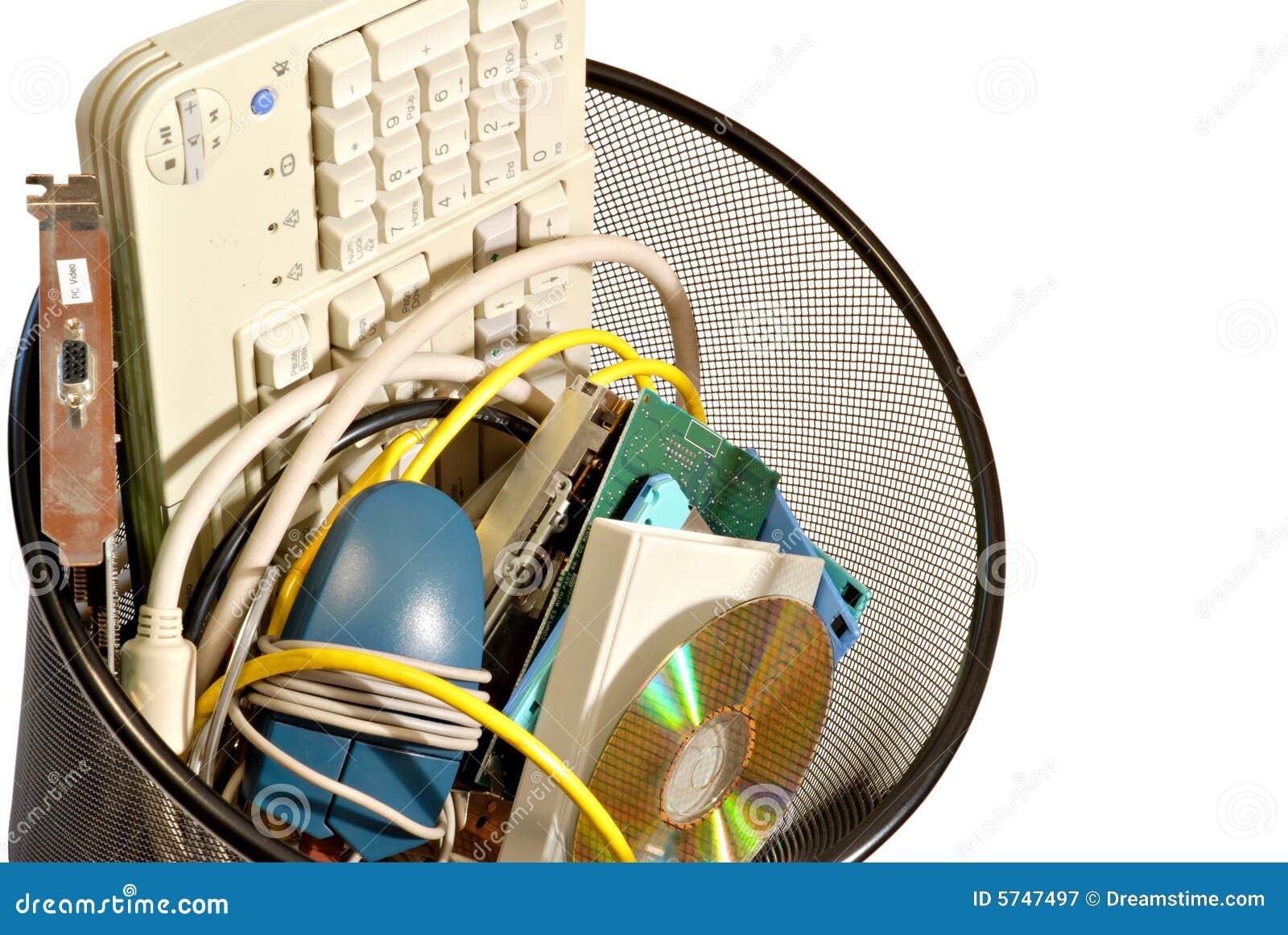 απορρίμματα υπολογιστών