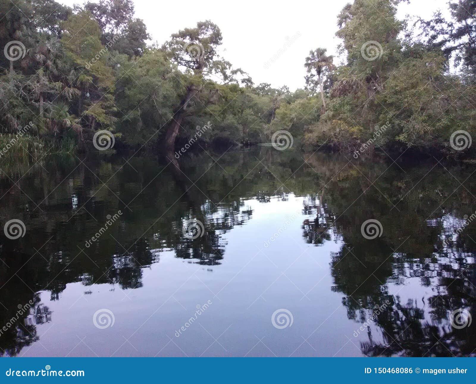 Απόγευμα ποταμών Burnell