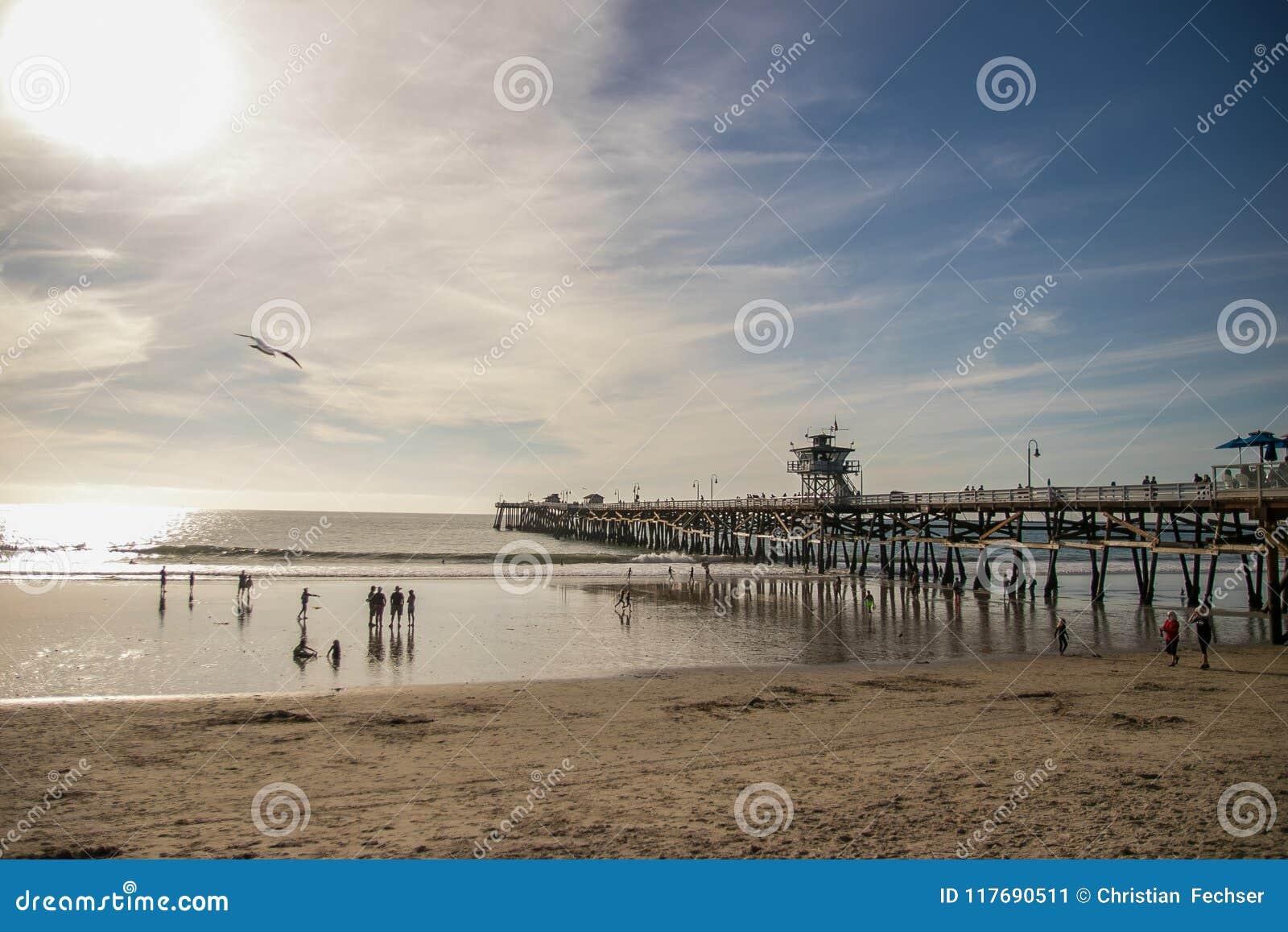 Απόγευμα στην αποβάθρα του Σαν Κλεμέντε, Καλιφόρνια