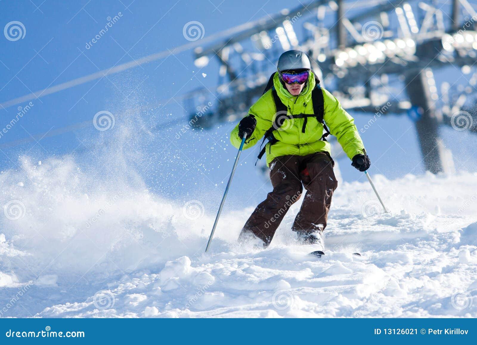 από να κάνει σκι piste