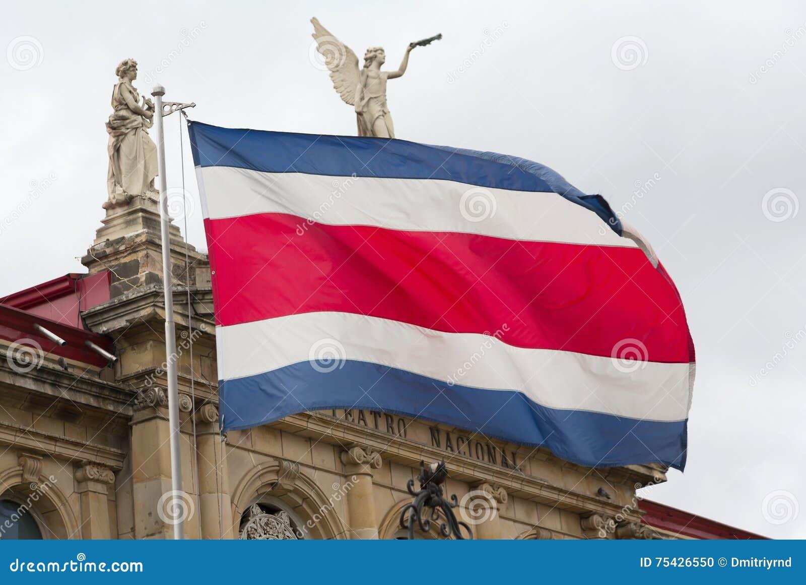 Από την Κόστα Ρίκα σημαία και εθνικό θέατρο