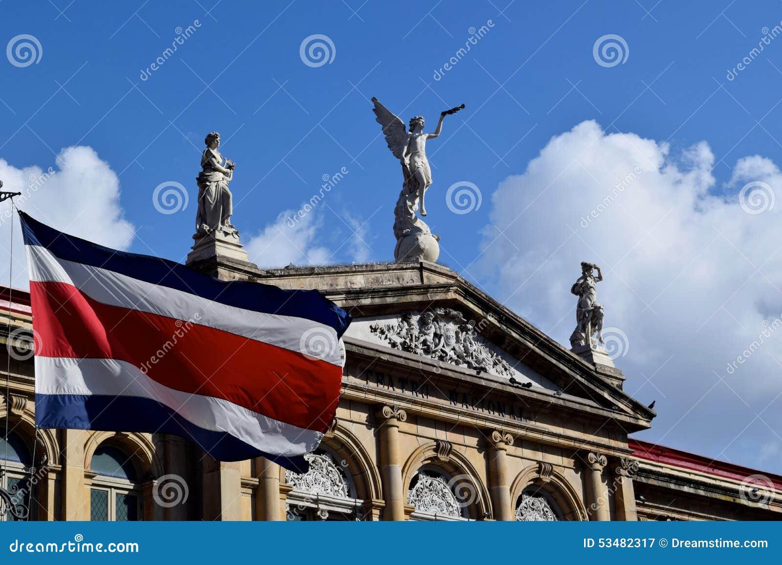Από την Κόστα Ρίκα σημαία