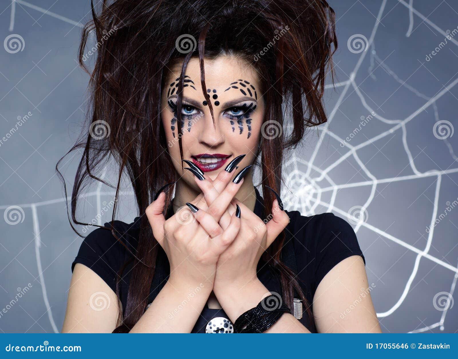 αράχνη κοριτσιών