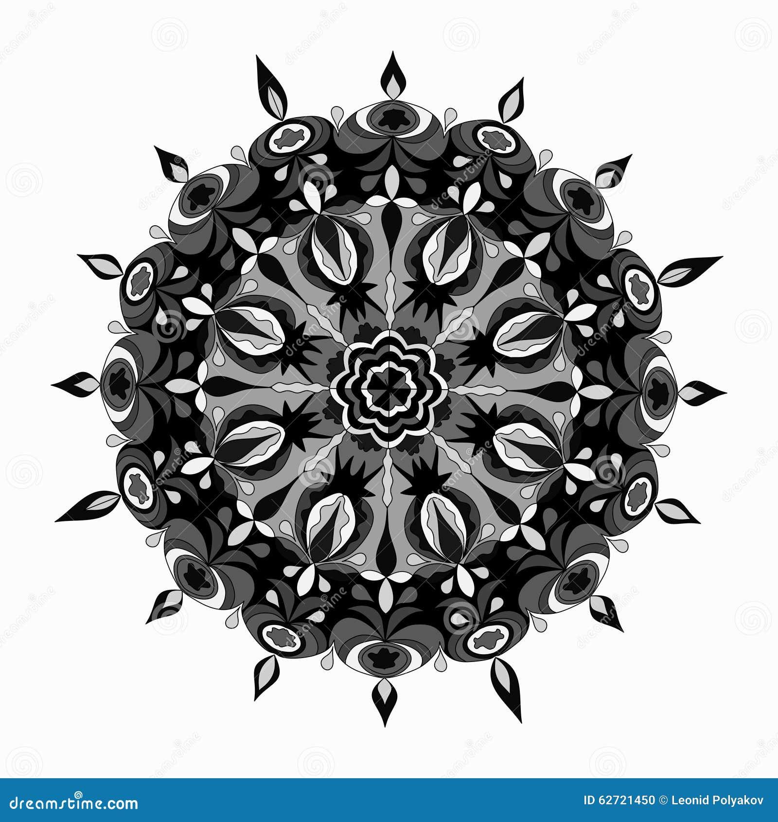 Αραβικά ινδικά υπόβαθρα Ισλάμ στοιχείων διακοσμήσεων Mandala διακοσμητικά