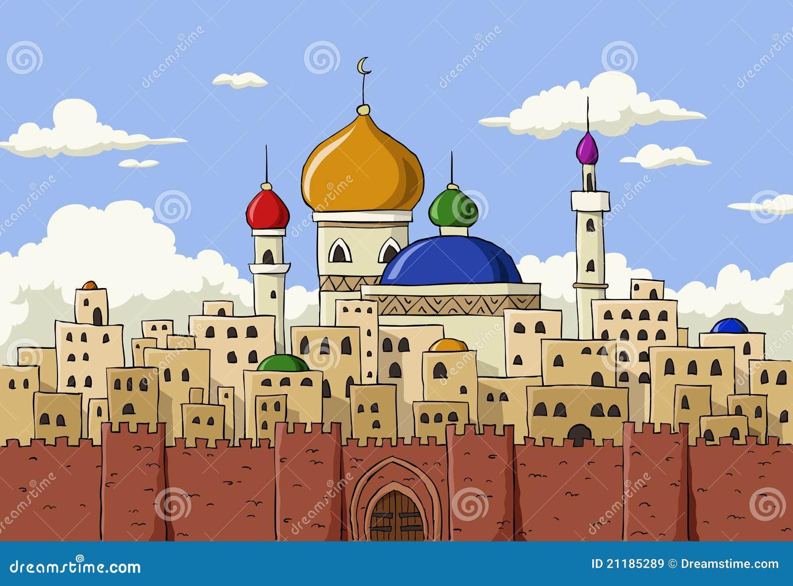 αραβική πόλη