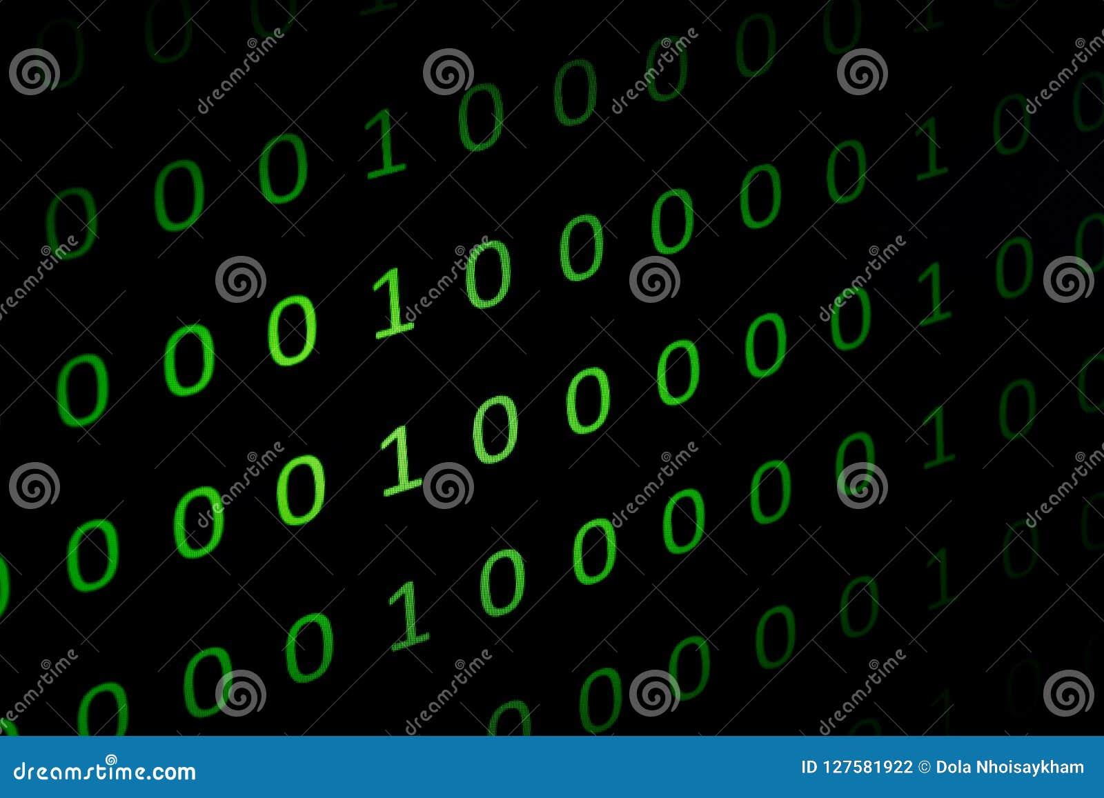 Αριθμητικός συνεχής, abctract στοιχεία στο δυαδικό κώδικα, δίνει την κατάρριψη τεχνολογίας