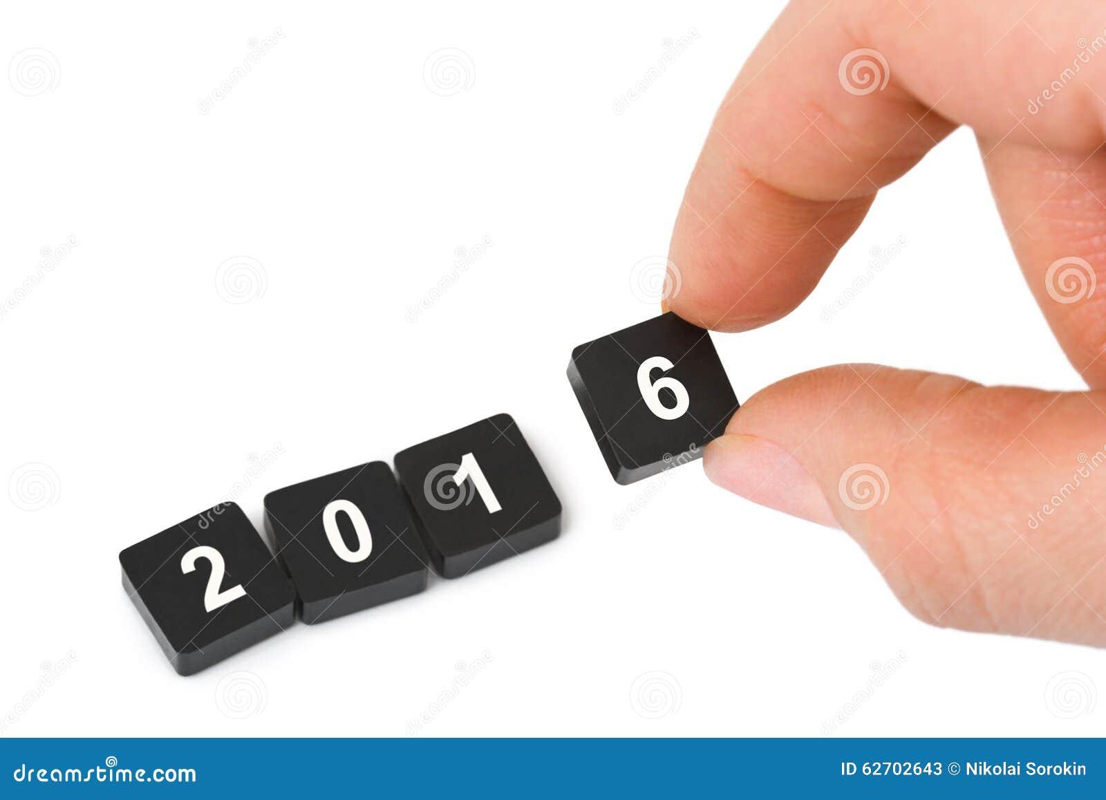 Αριθμοί 2016 και χέρι