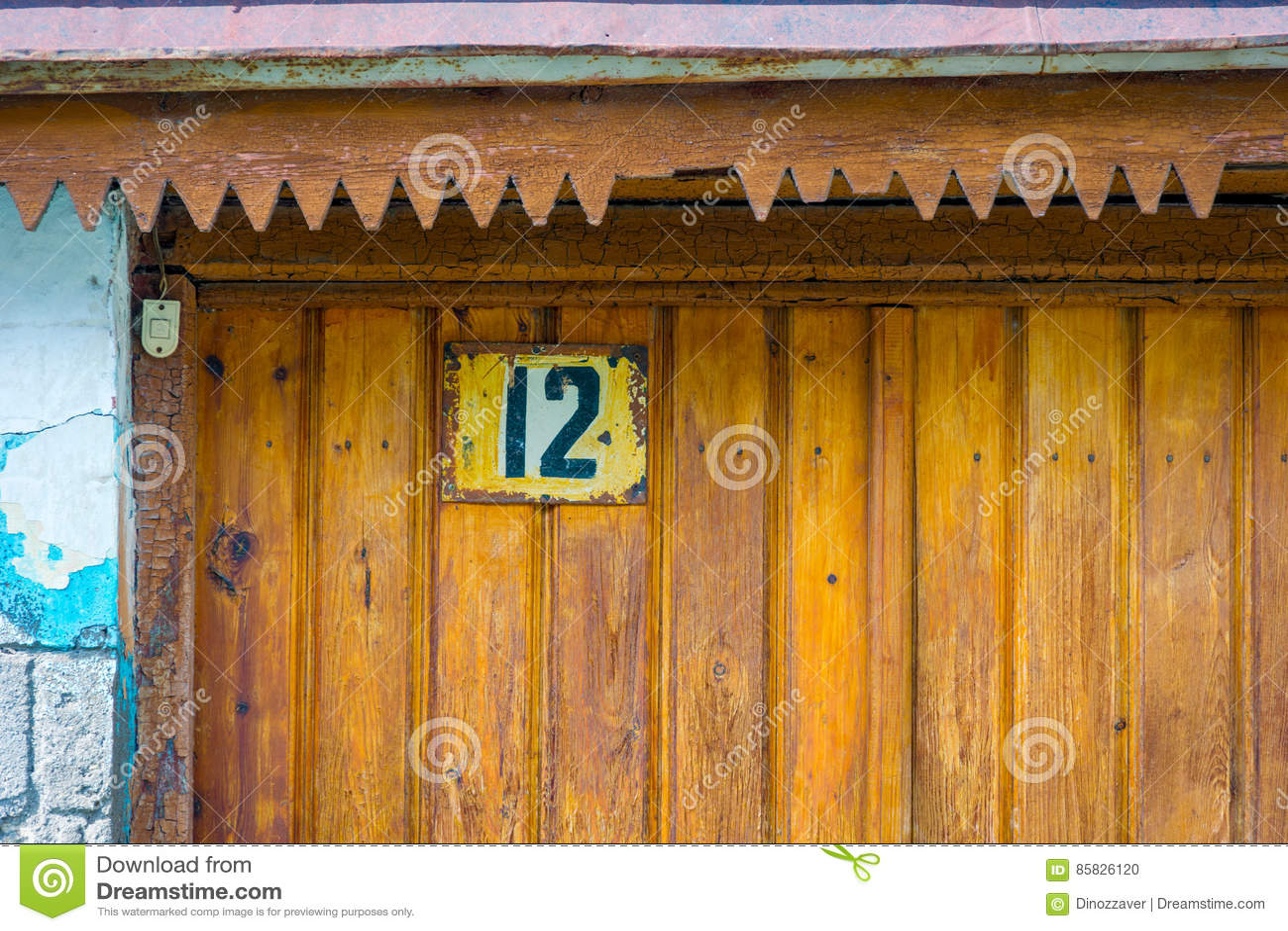 Αριθμός σπιτιών στην πόρτα