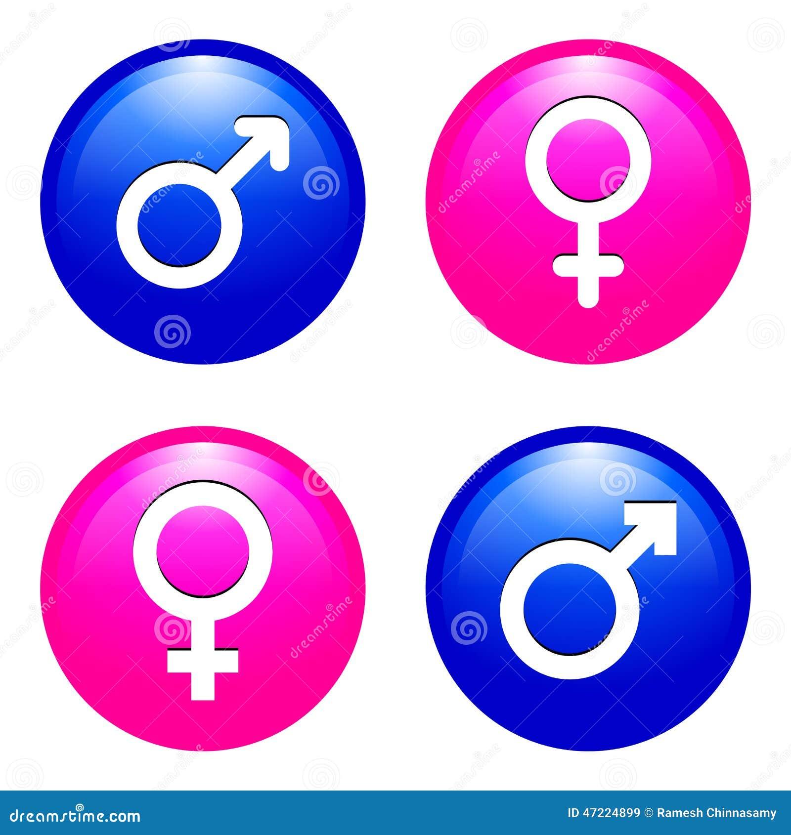 Αρσενικά και θηλυκά σύμβολα
