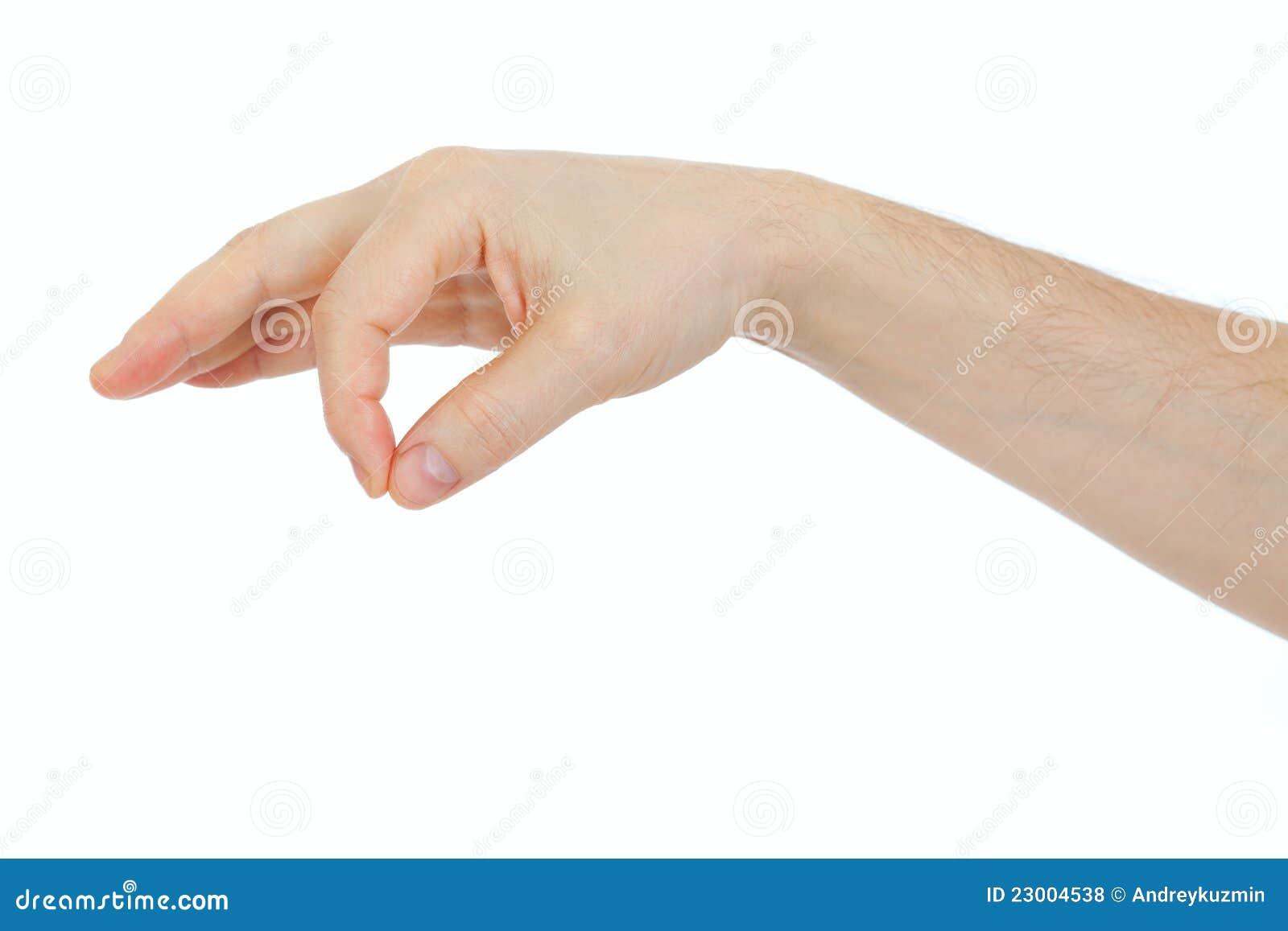 αρσενικό αντικείμενο εκμετάλλευσης χεριών κάποιος λεπτός