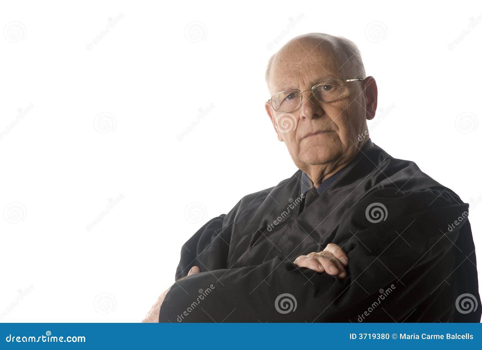 αρσενικό πορτρέτο δικαστ