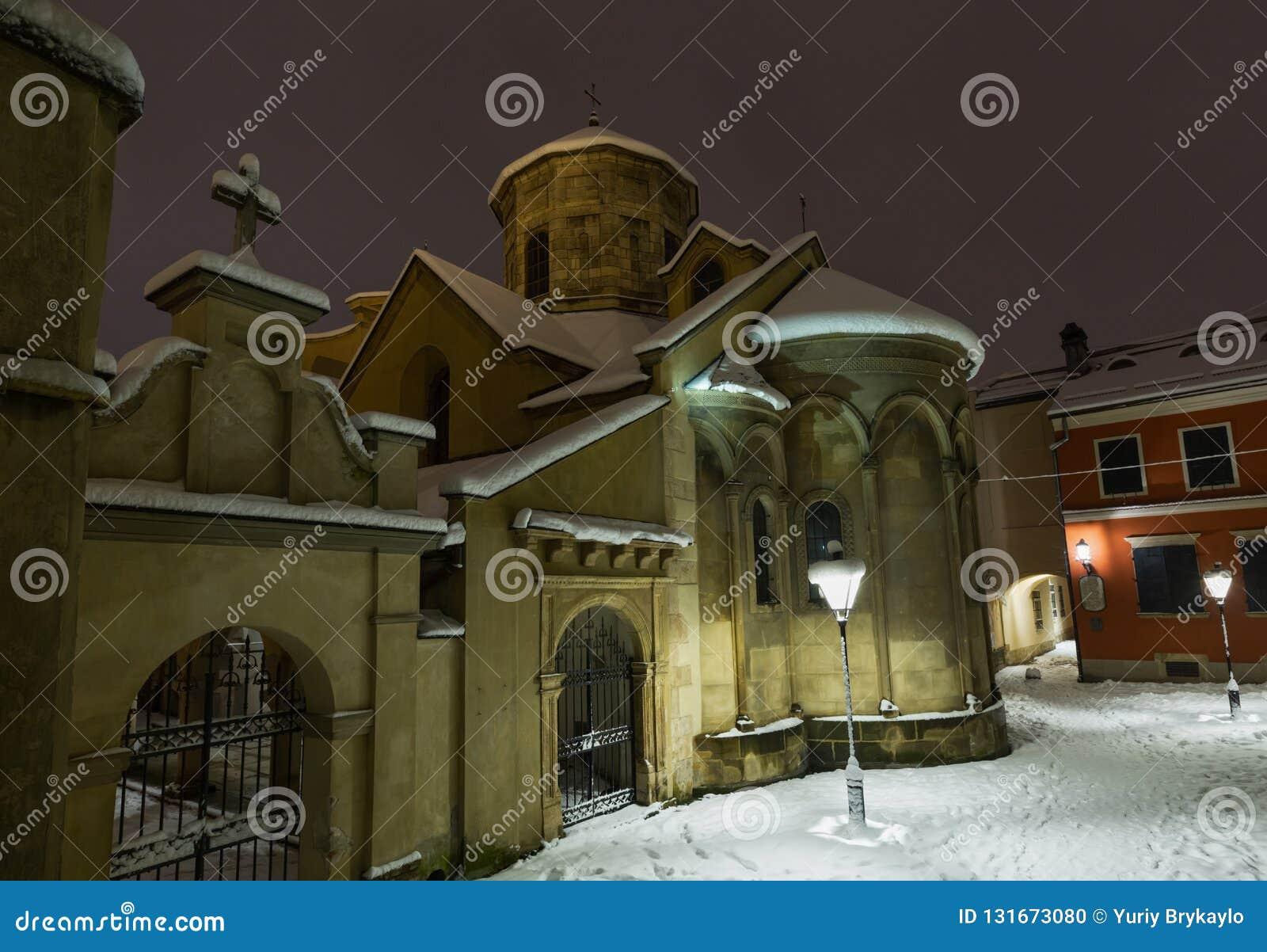 Αρχαία αρμενική εκκλησία στην πόλη Lviv, Ουκρανία