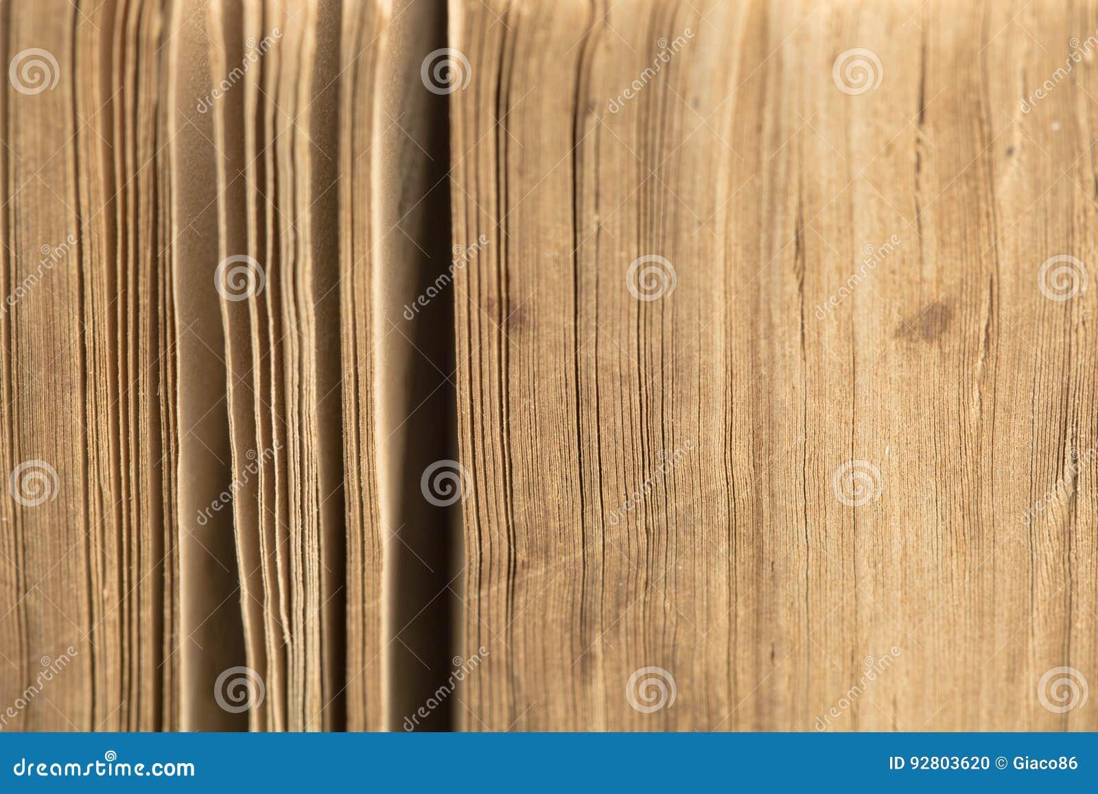 Αρχαία Βίβλος - παλαιό βιβλίο - κινηματογράφηση σε πρώτο πλάνο σελίδων
