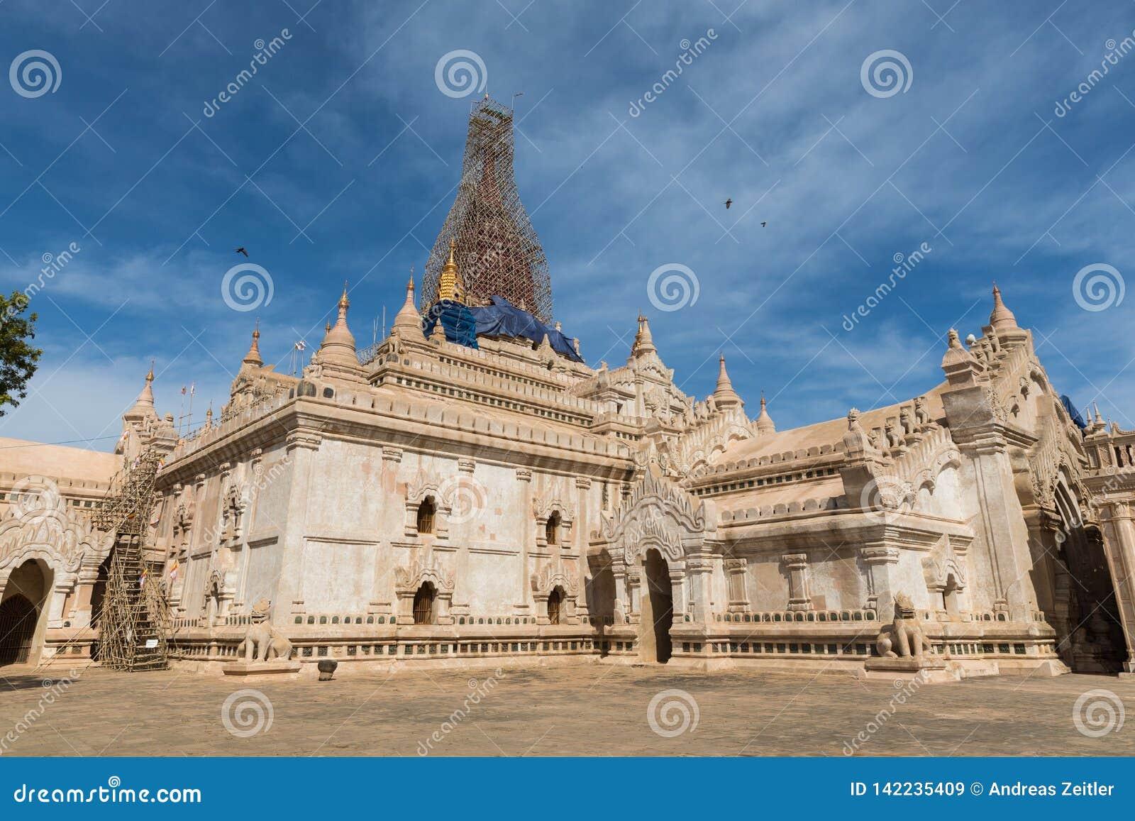 Αρχαία παγόδα Bagan (ειδωλολατρικό) Ananda, Mandalay, το Μιανμάρ (Βιρμανία