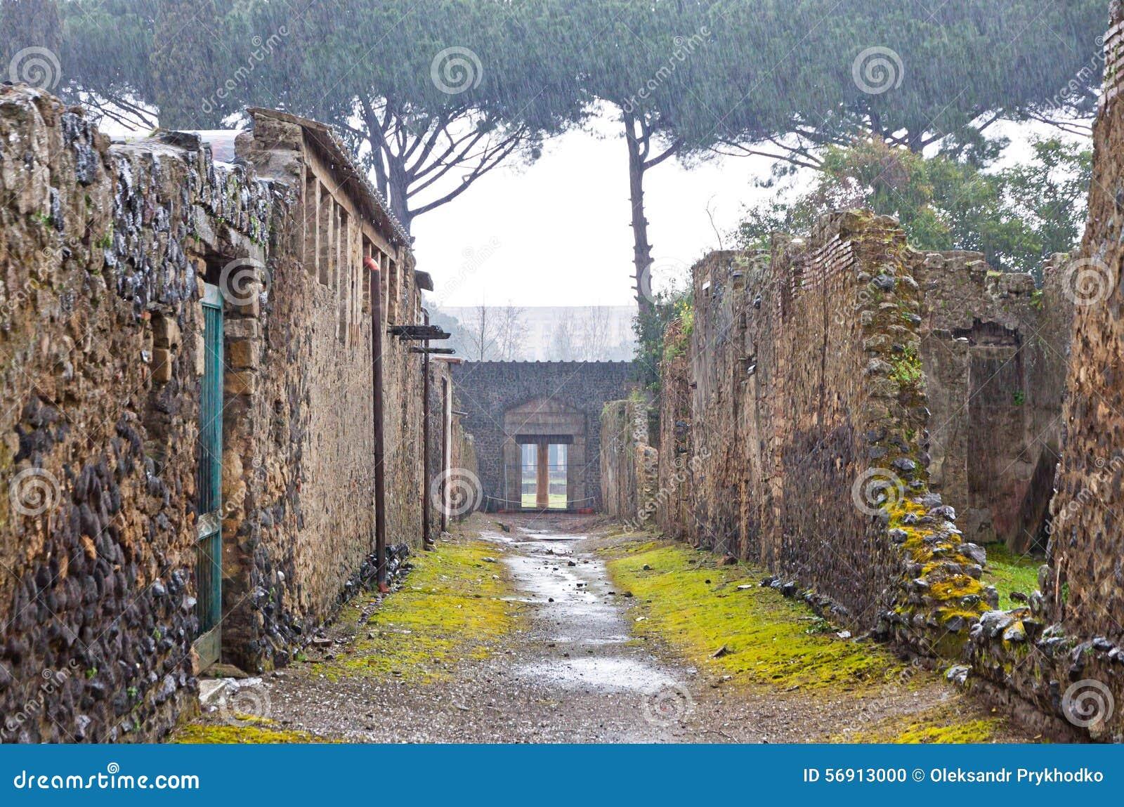 Αρχαία ρωμαϊκή πόλη της Πομπηίας, Ιταλία
