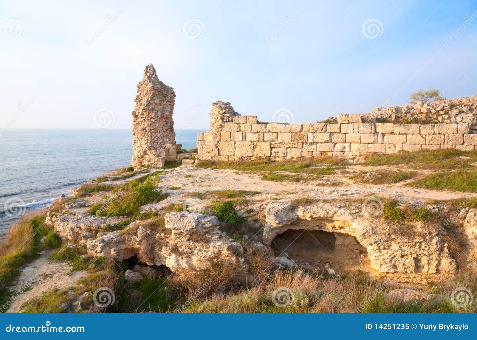 αρχαία chersonesos που εξισώνουν τ&e