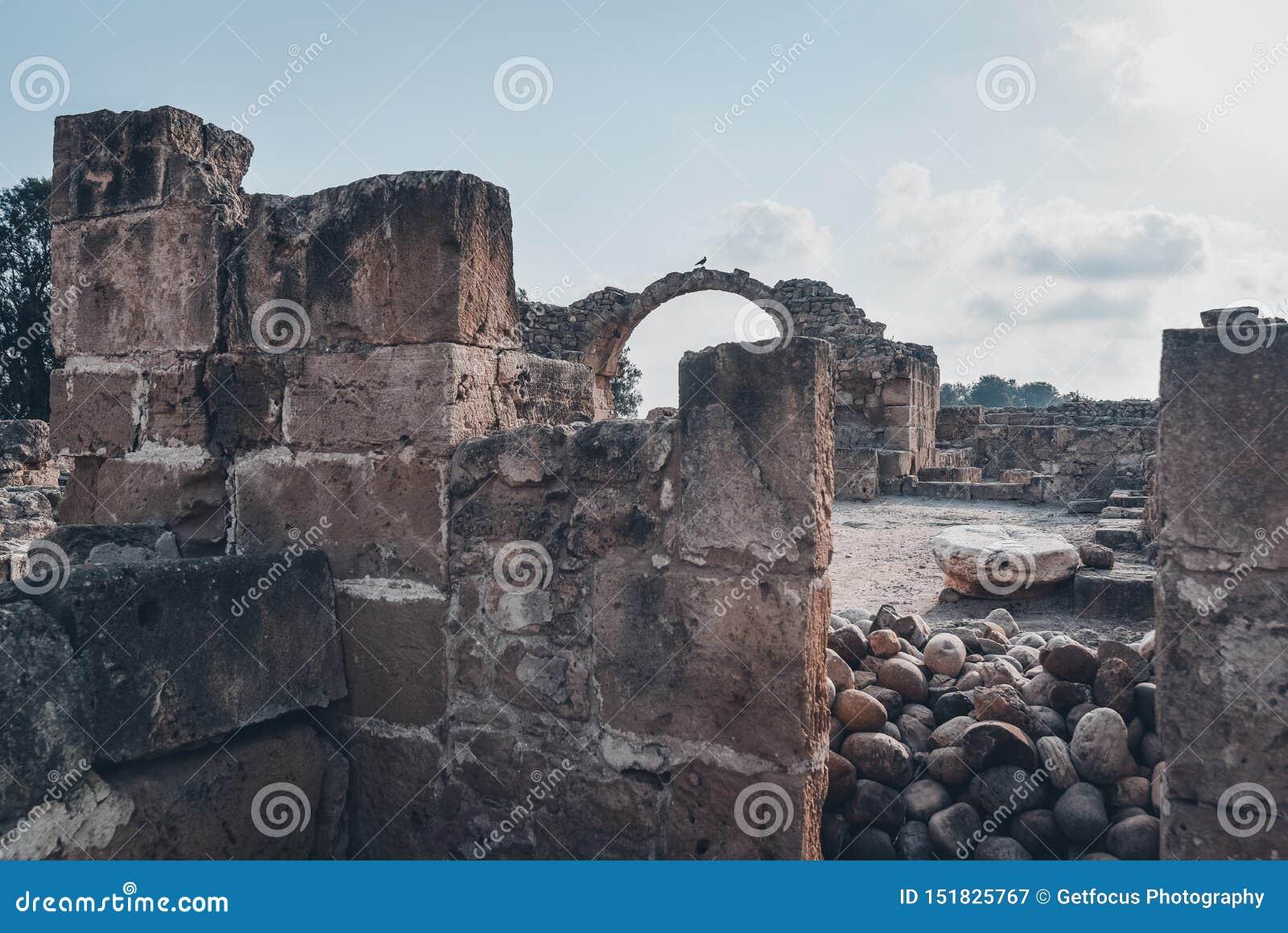 Αρχαίες καταστροφές της Kato Pafos, Κύπρος