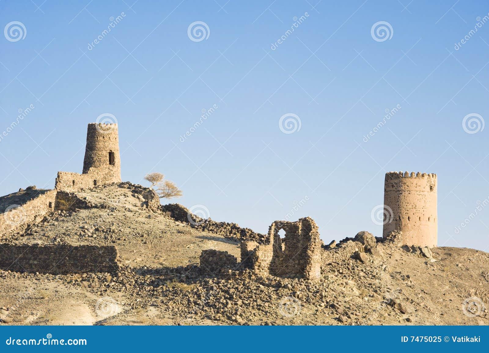 αρχαίες καταστροφές του Ομάν mudayrib Al