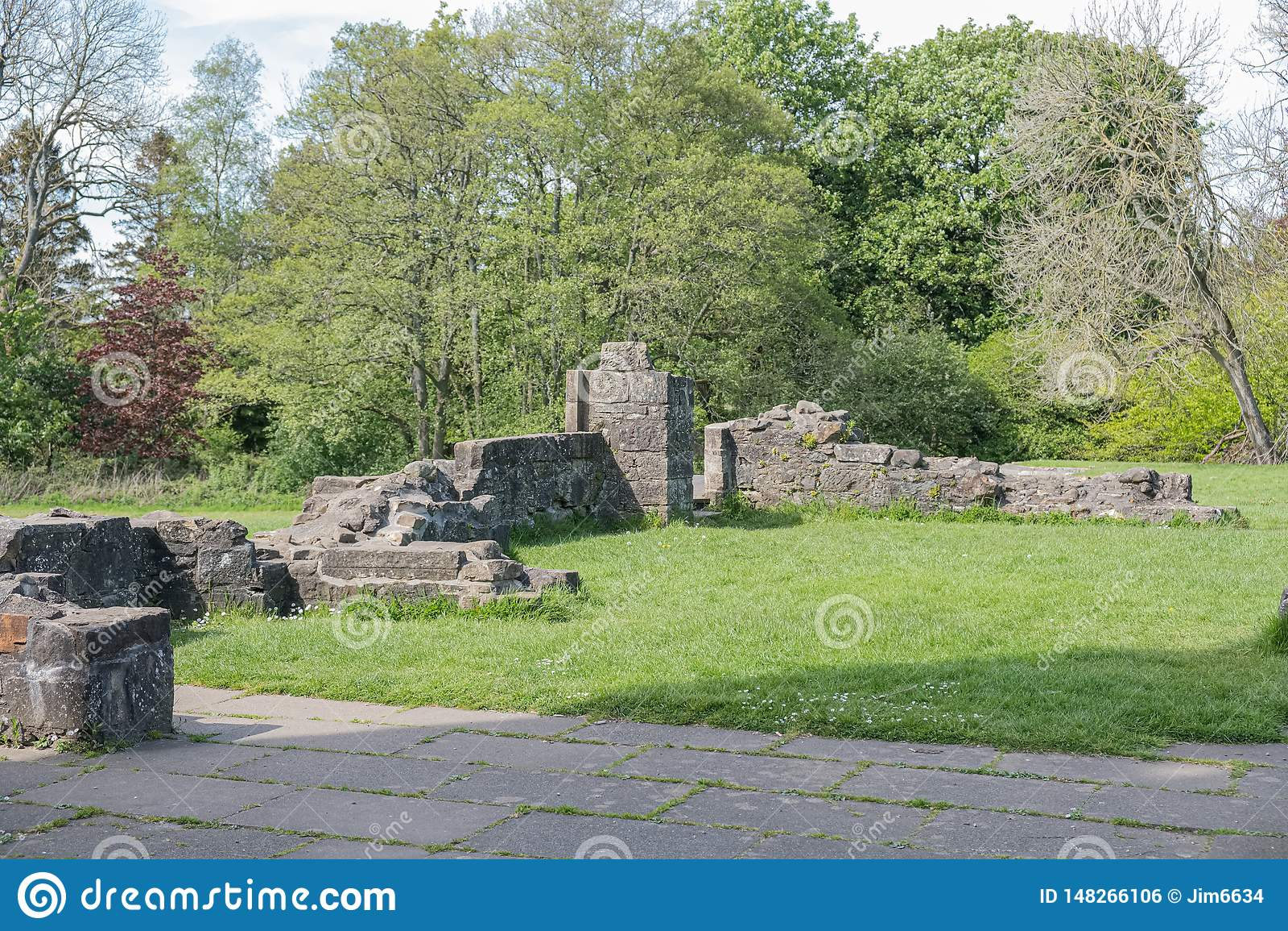 Αρχαίες καταστροφές Eglinton Irvine Σκωτία