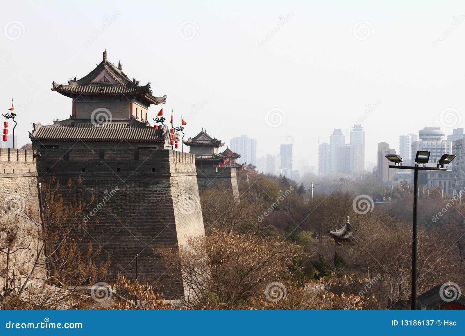 αρχαίος τοίχος της Κίνας