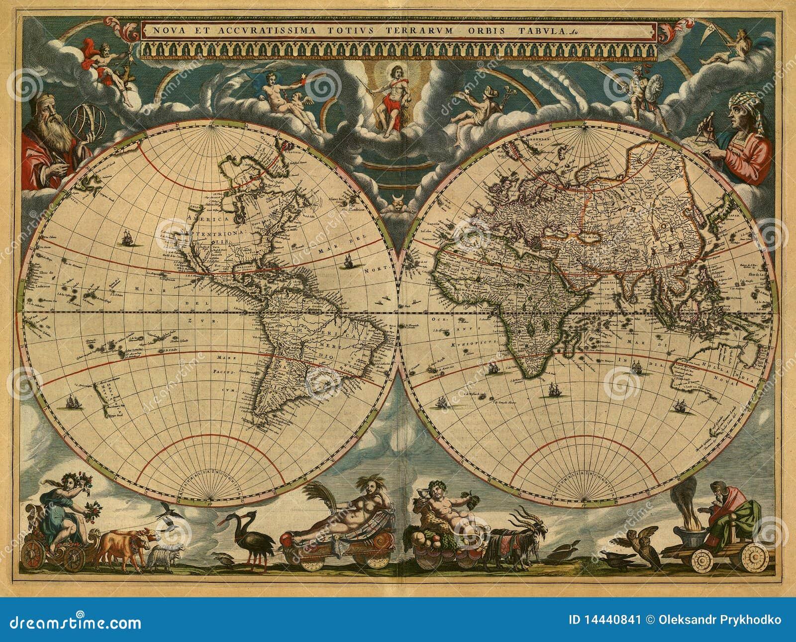 αρχαίος χάρτης
