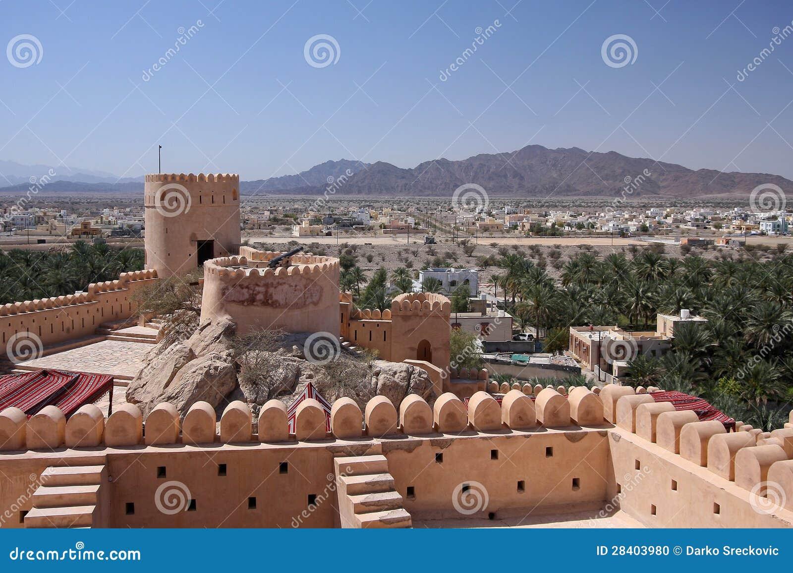 Αρχαίο φρούριο Nakhal
