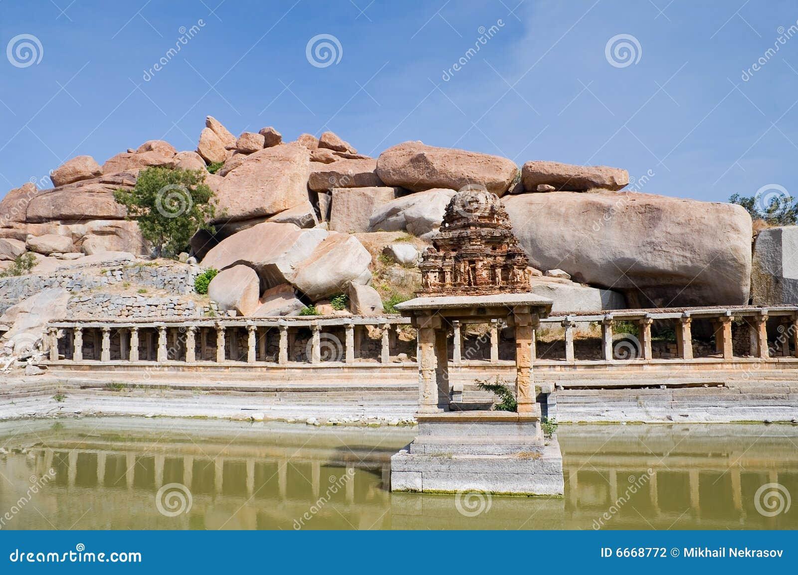 αρχαίο ύδωρ ναών λιμνών αγοράς krishna