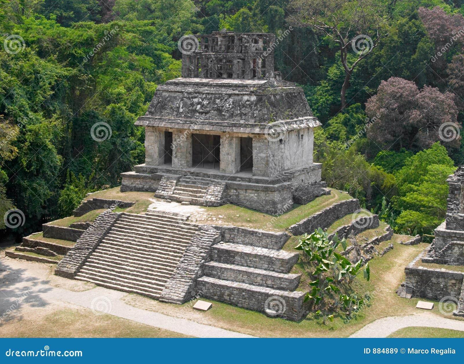 αρχαιολογική περιοχή του Μεξικού palenque