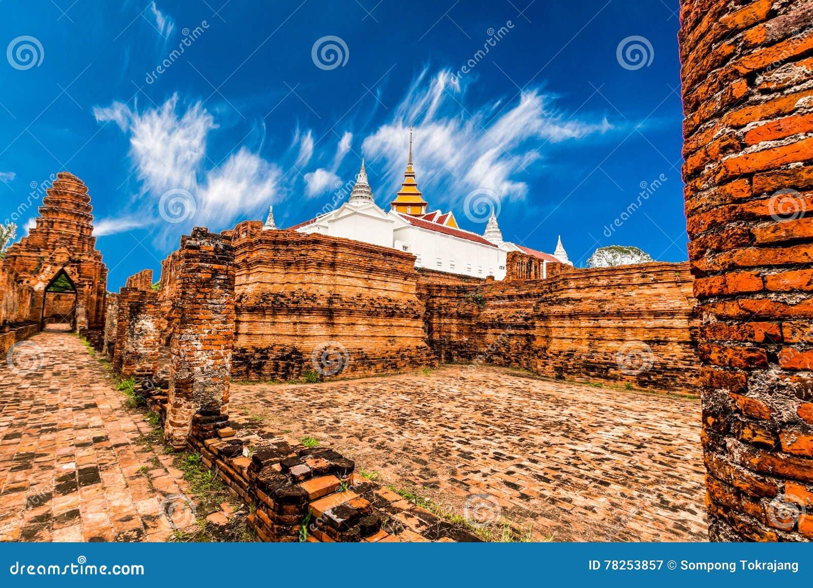 Αρχαιολογική περιοχή σε Ayutthaya