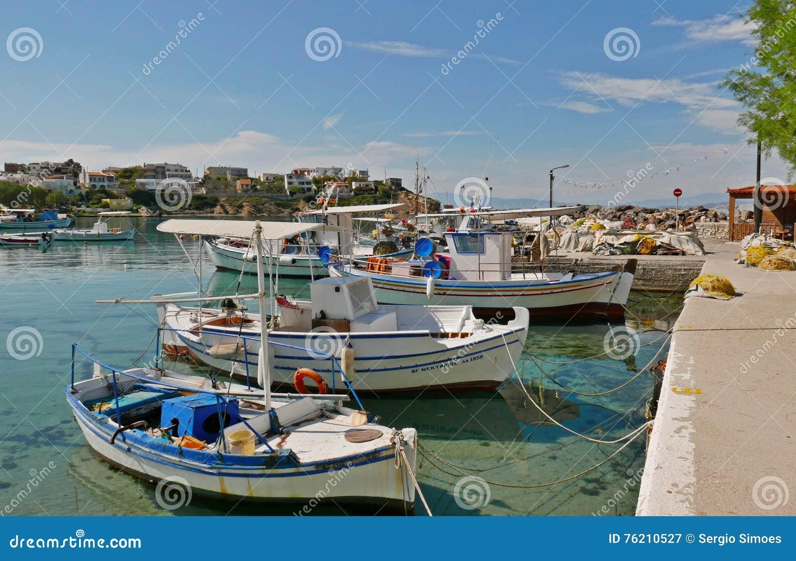 αρχαιολογική περιοχή kolona νησιών της Ελλάδας aegina