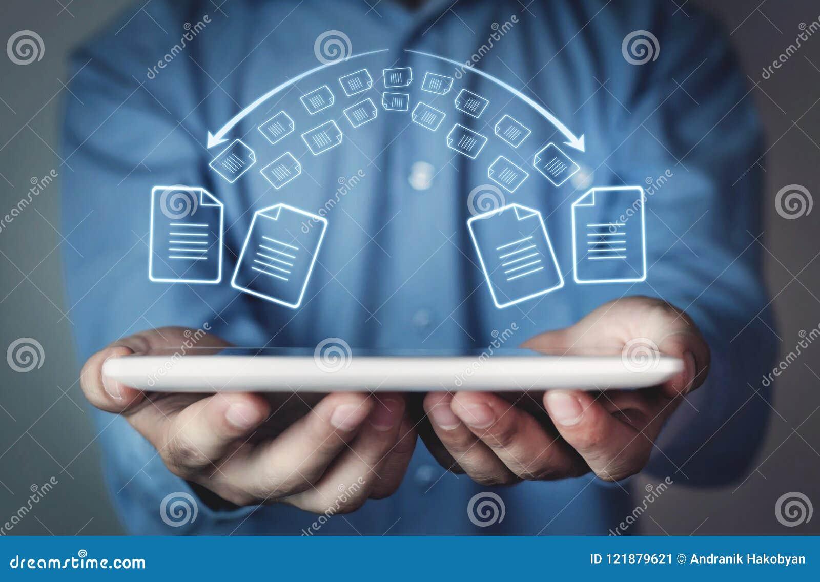 Αρχεία αντιγράφων, ανταλλαγή στοιχείων Μεταφορά αρχείων Γρήγορη μεταφορά μΑ αρχείων