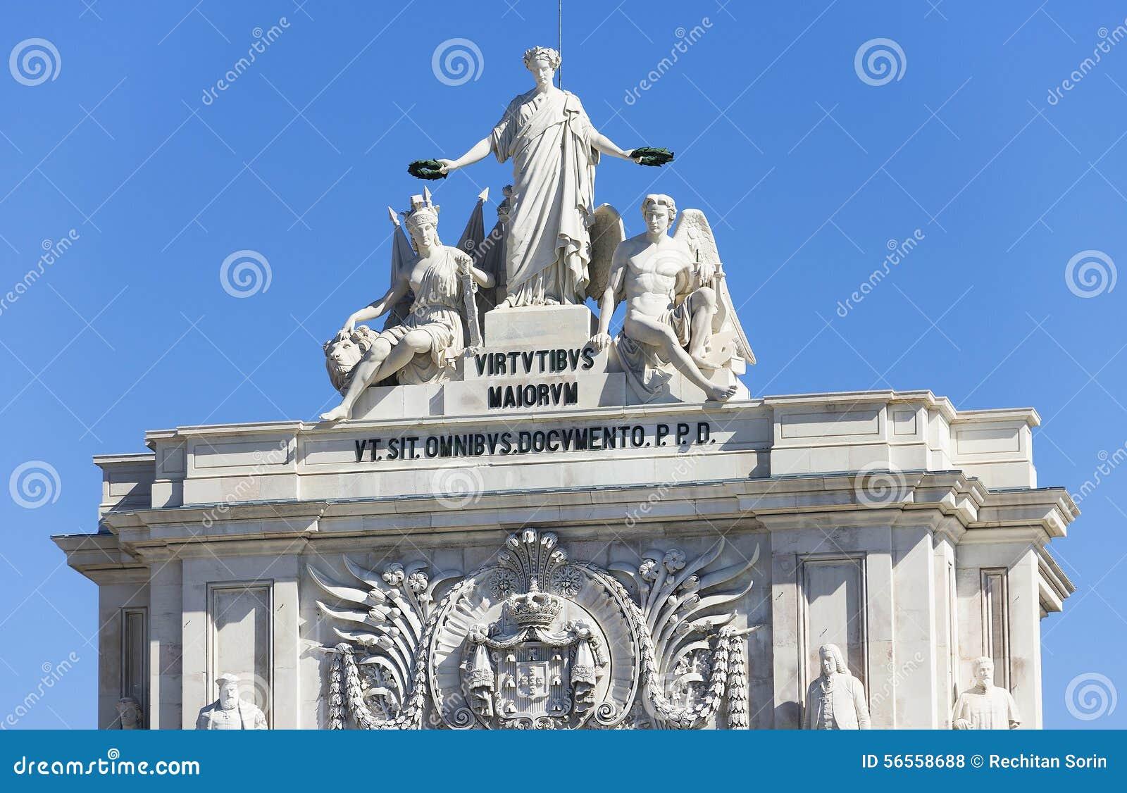 Download Αρχιτεκτονική λεπτομέρεια στη Λισσαβώνα Στοκ Εικόνες - εικόνα από μνημείο, αρχιτεκτονικής: 56558688