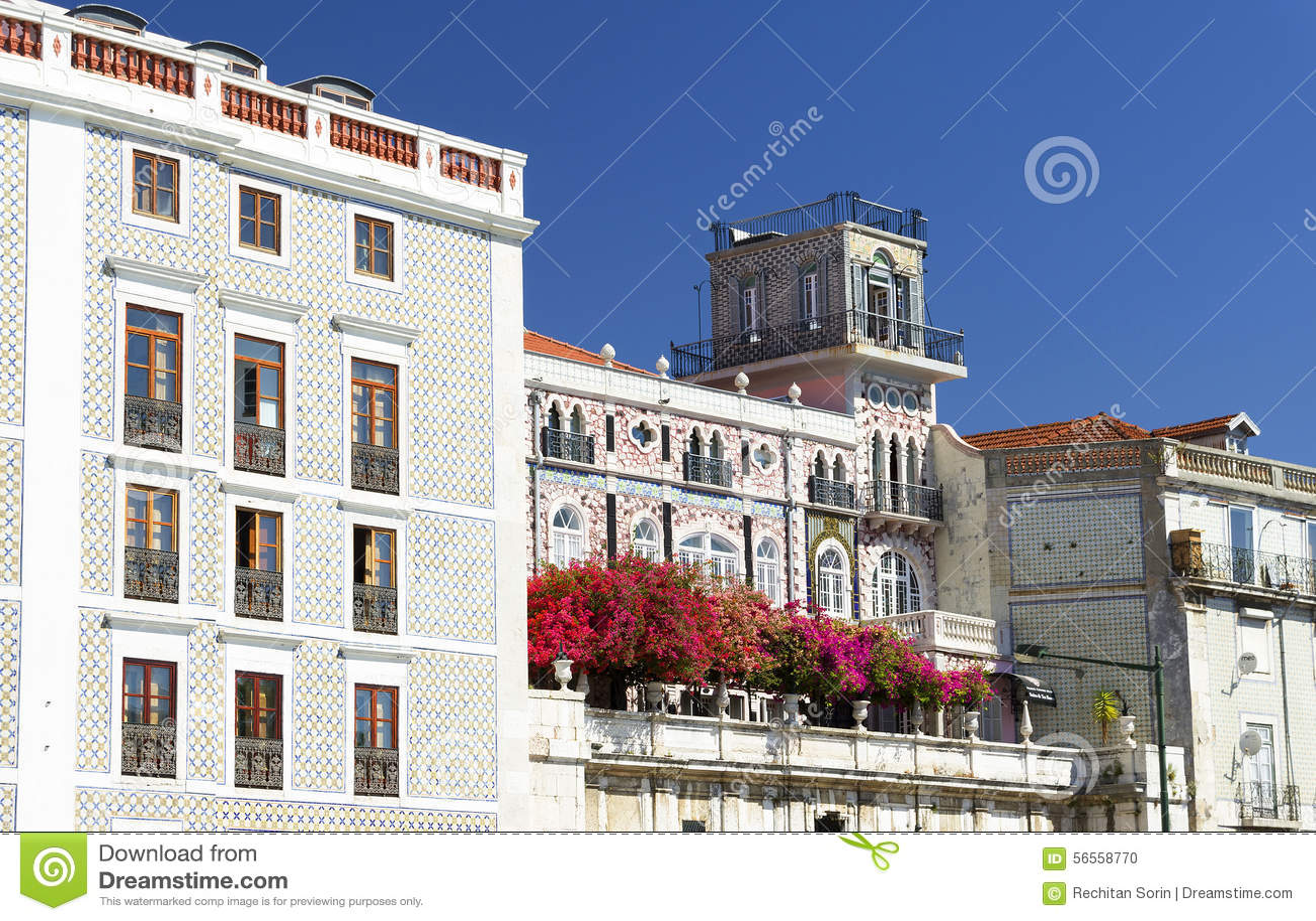 Download Αρχιτεκτονική λεπτομέρεια στη Λισσαβώνα Στοκ Εικόνες - εικόνα από ιστορικός, εμπορικός: 56558770