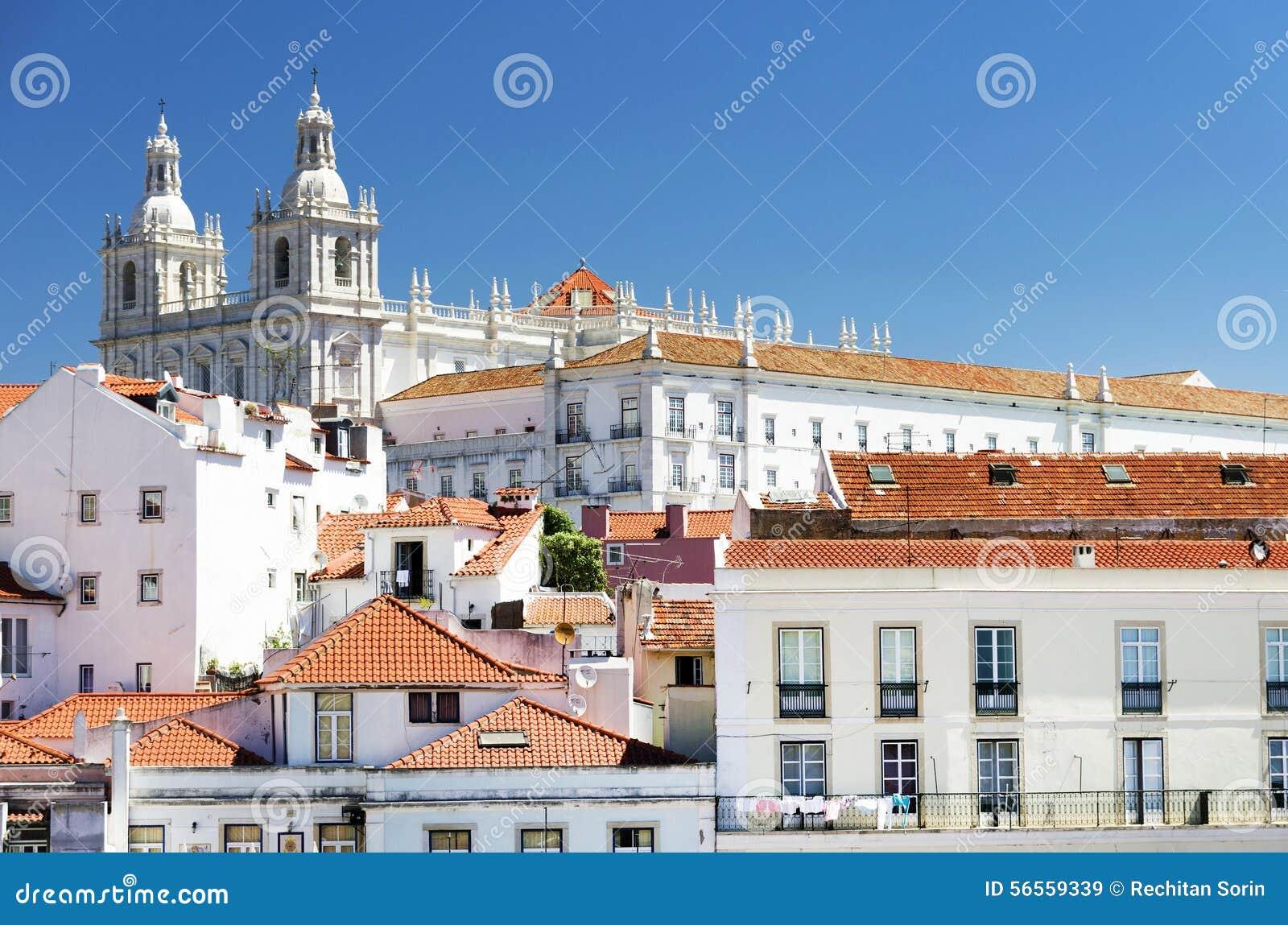 Download Αρχιτεκτονική λεπτομέρεια στη Λισσαβώνα Στοκ Εικόνα - εικόνα από ορίζοντας, ευρωπαϊκά: 56559339