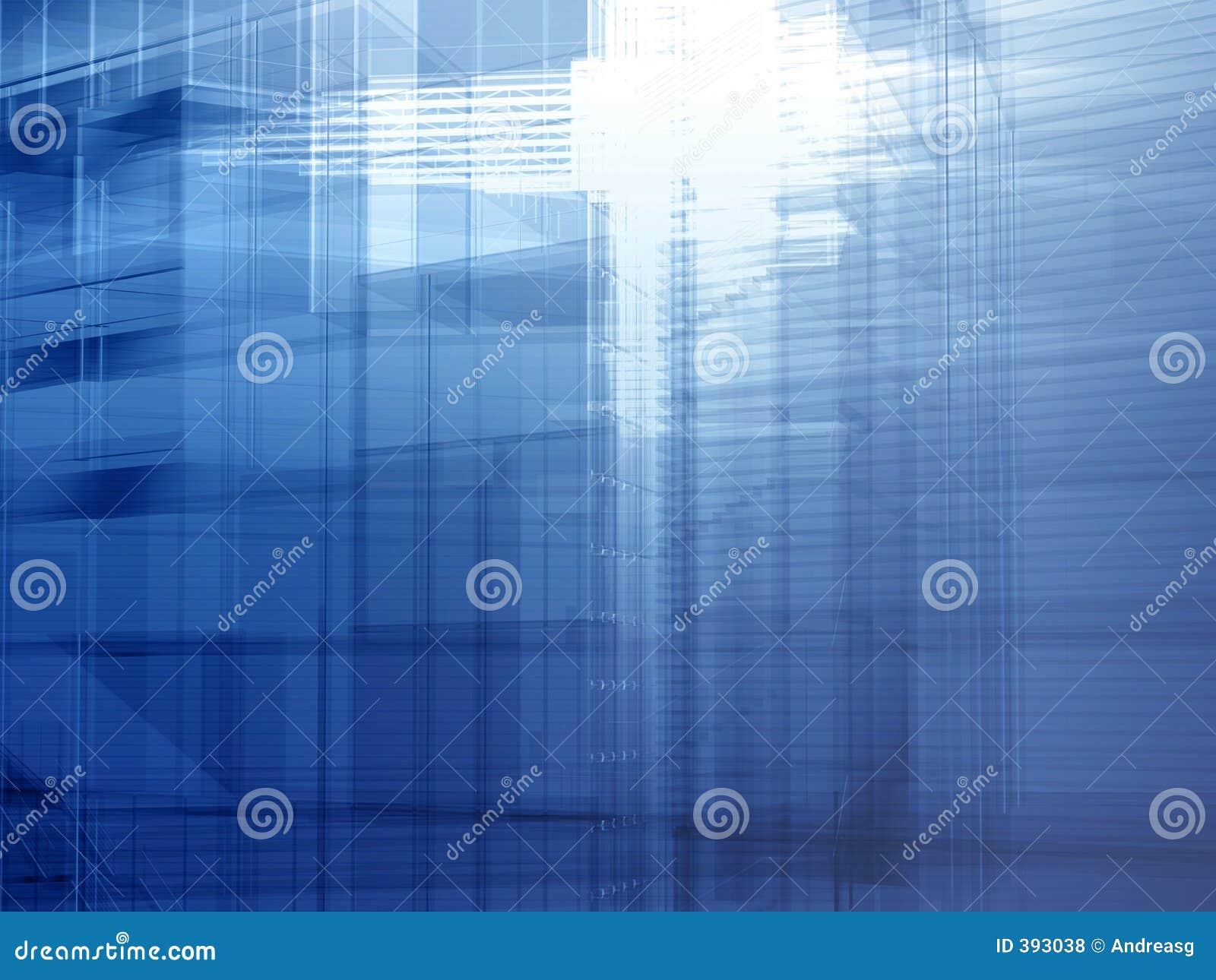 αρχιτεκτονικός μπλε χάλυβας