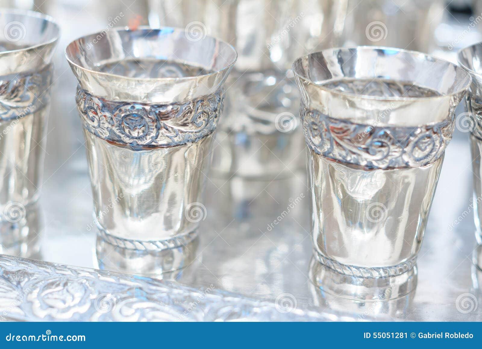 Ασημένια goblets