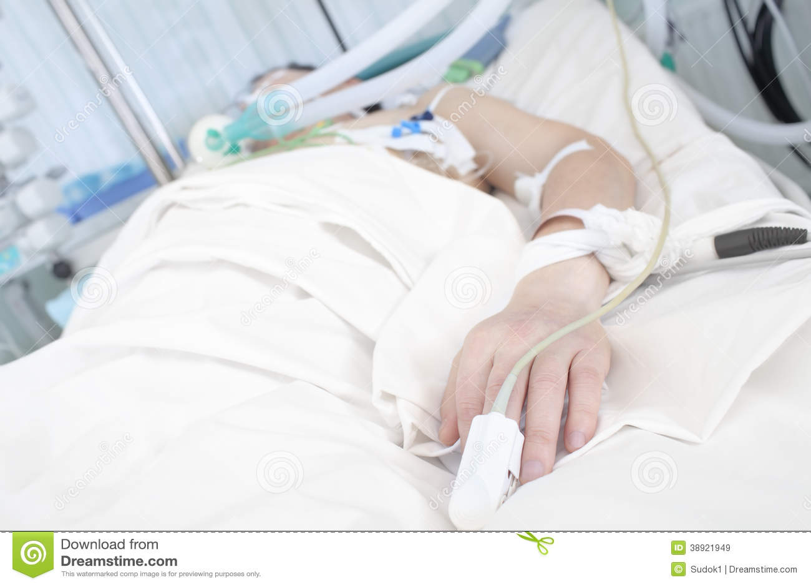 Ασθενής στο κρεβάτι