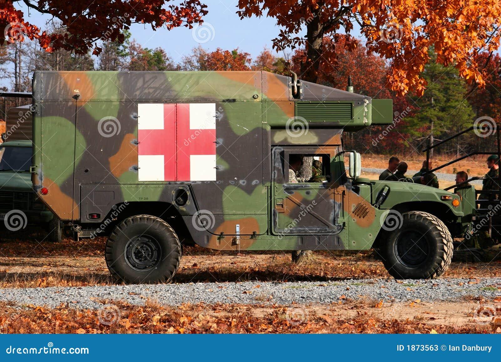 ασθενοφόρο στρατιωτικό