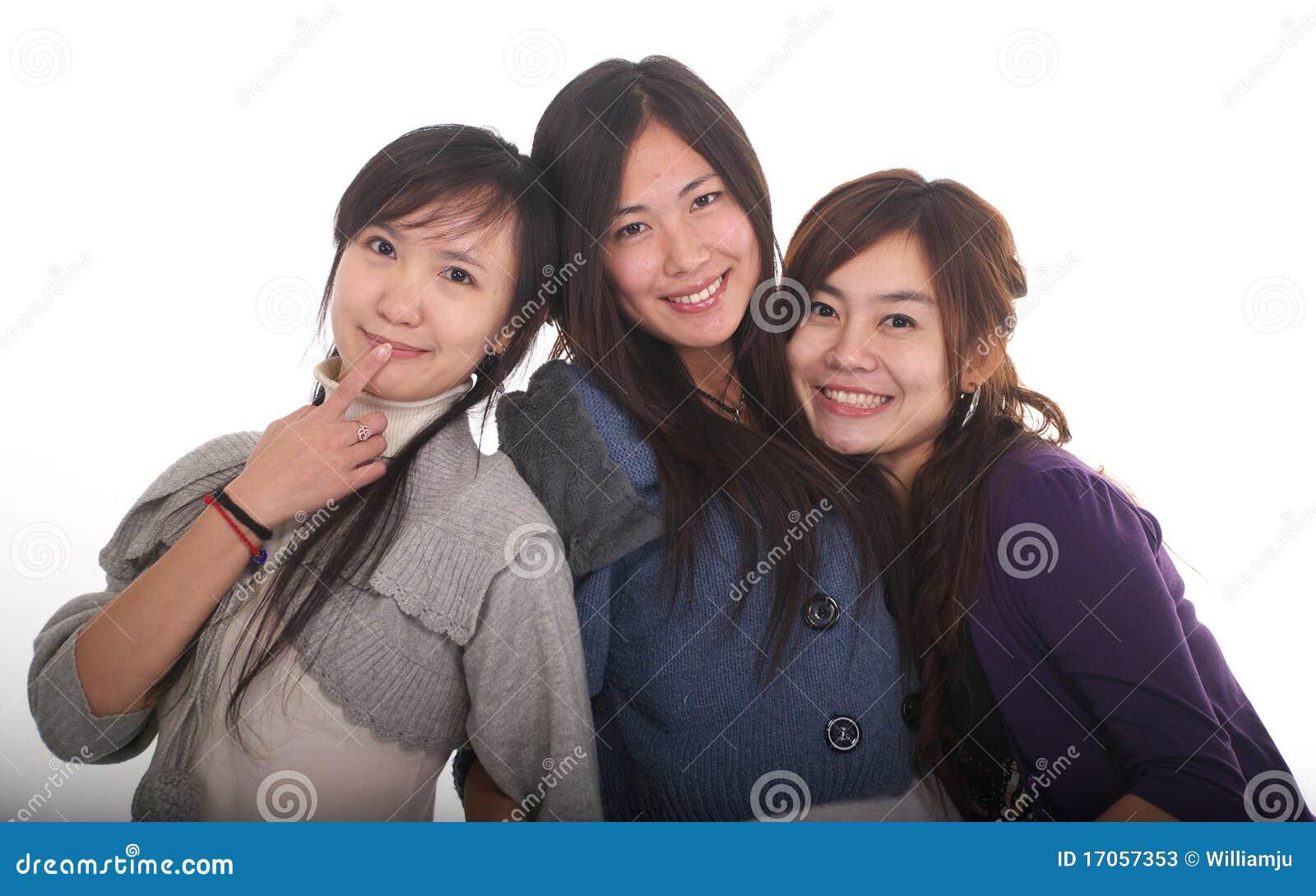 ασιατικά κορίτσια τρία