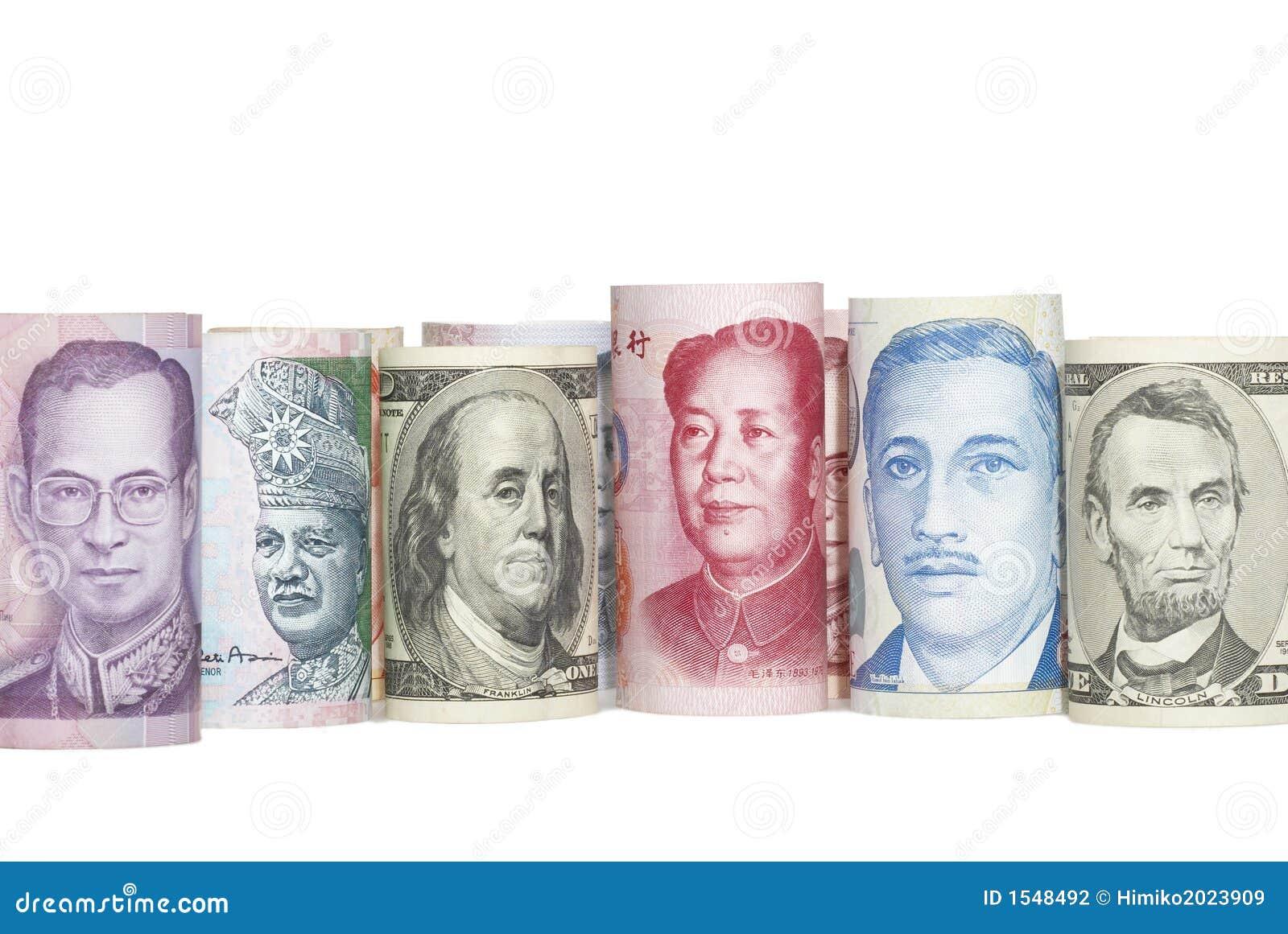 ασιατικά νομίσματα